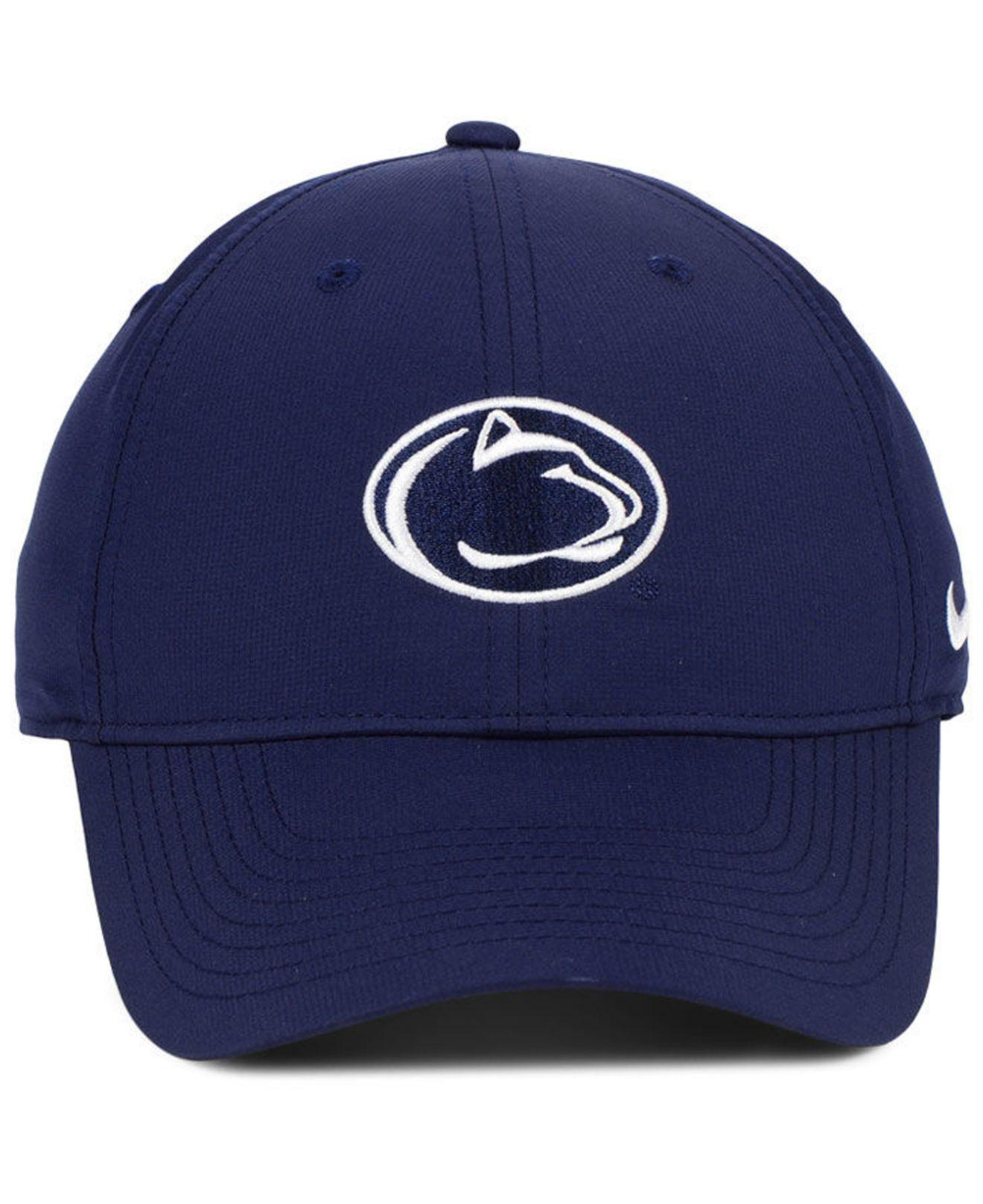 c45db26bcb618 Lyst - Nike Penn State Nittany Lions Dri-fit Adjustable Cap in Blue for Men