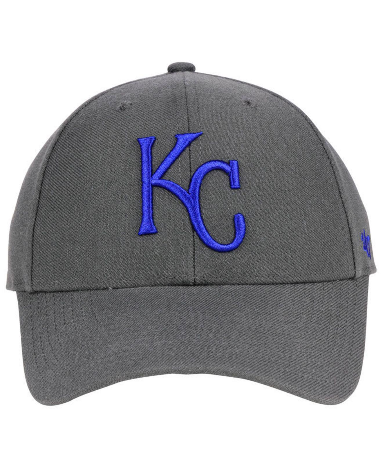 online retailer d0722 8b719 ... cheapest lyst 47 brand kansas city royals charcoal mvp cap in gray for  men d22fd 12f99