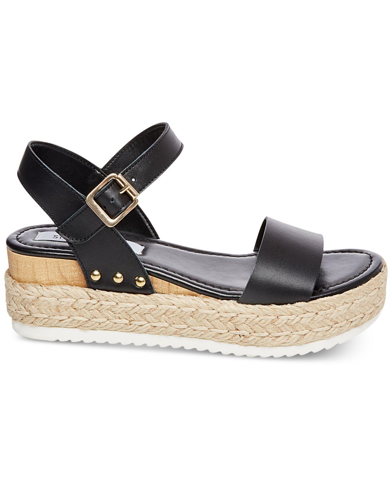 22e1b088259 Women's Black Chiara Flatform Espadrille Sandals
