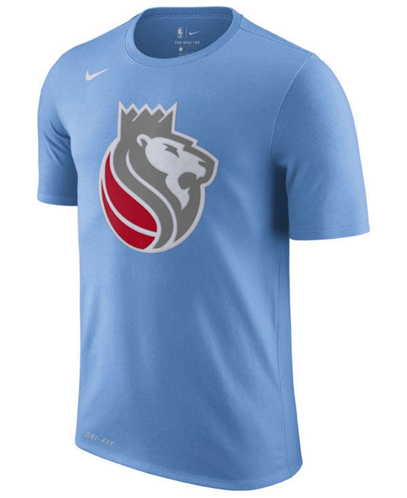 newest 06eb0 fc7c4 Blue Sacramento Kings City Edition Dri-fit Nba T-shirt