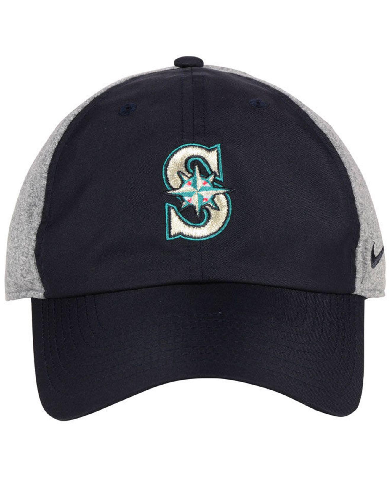 49d4c53e8fa ... coupon code lyst nike seattle mariners new day legend cap in blue for  men 5e090 fe2e4
