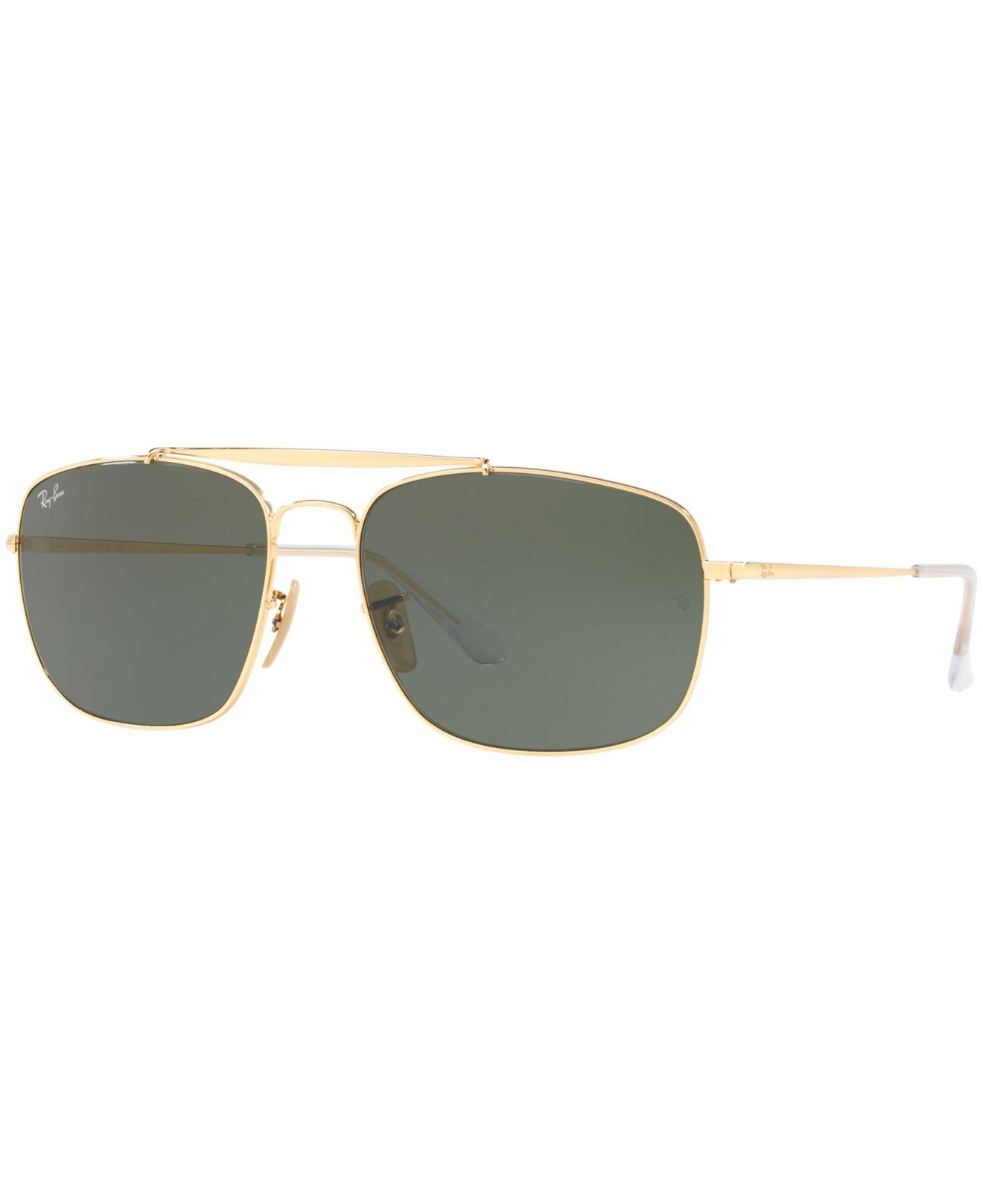 568c2e6ed0b6 Ray-Ban Sunglasses, Rb3560 The Colonel in Green - Lyst