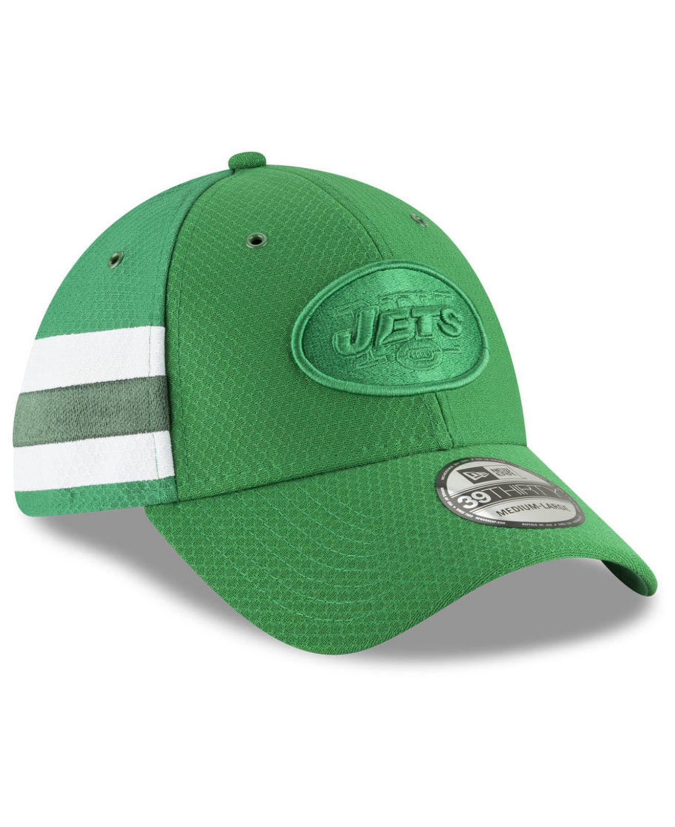 competitive price 1903e a6c99 Lyst - KTZ New York Jets Official Color Rush 39thirty Stretch Fitted ...