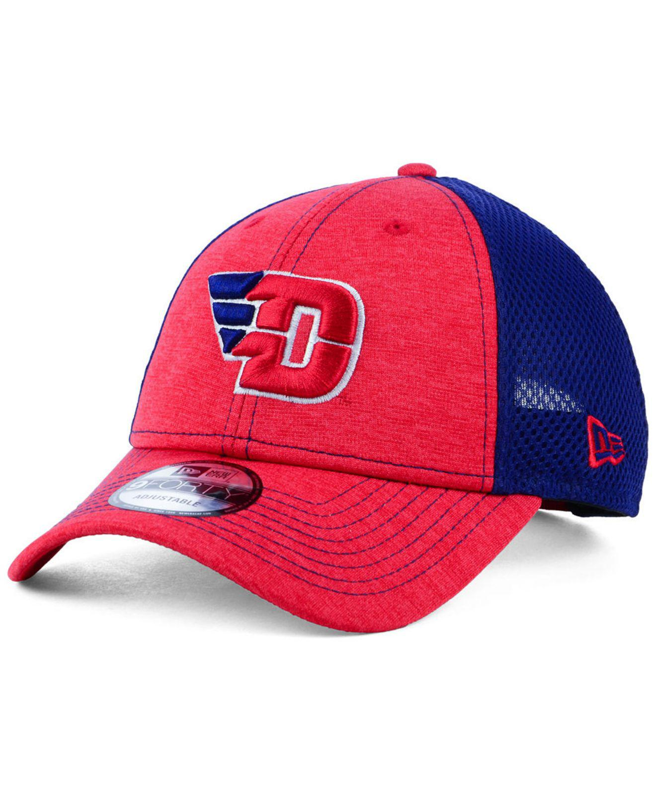 online store 182b5 3ce60 Lyst - KTZ Dayton Flyers Shadow Turn 9forty Cap in Red for Men