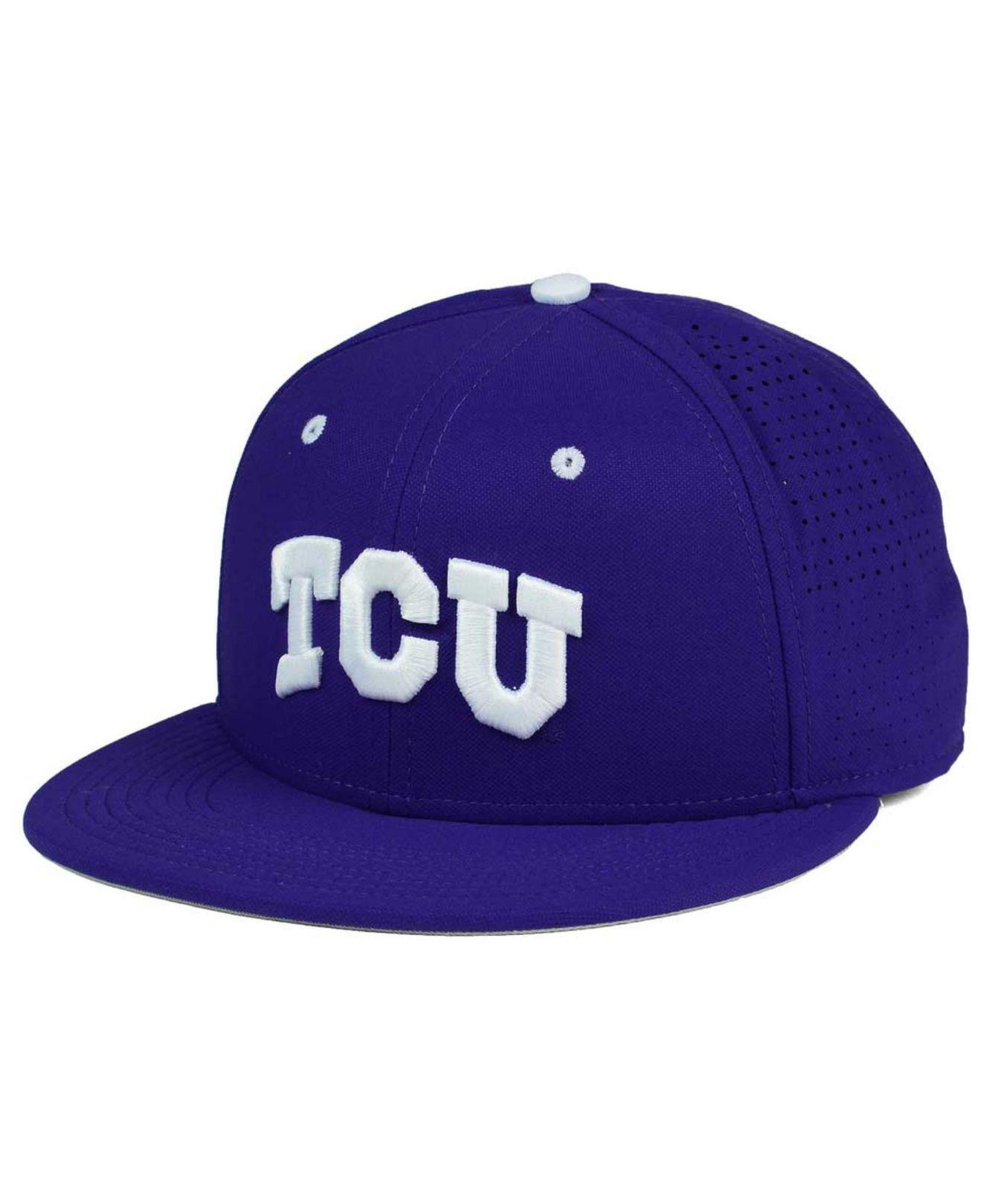 0826950070a Lyst - Nike Tcu Horned Frogs True Vapor Fitted Cap in Purple for Men ...