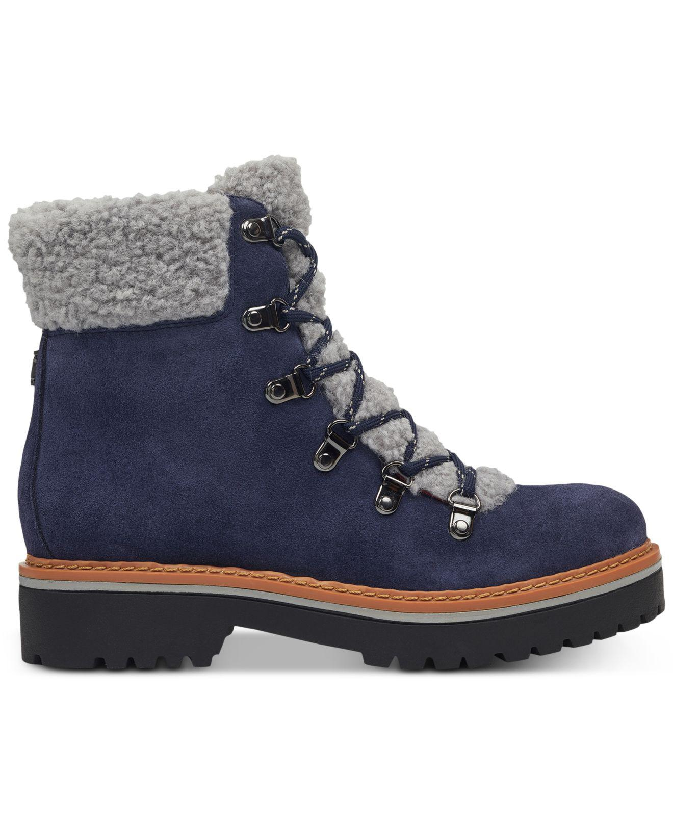 8a91a2f428c4d2 Tommy Hilfiger Women s Deeanne Block-Heel Boots -  Lyst - Tommy Hilfiger  Ron Lace-up Winter Boots in Blue best deals on 3984f ...