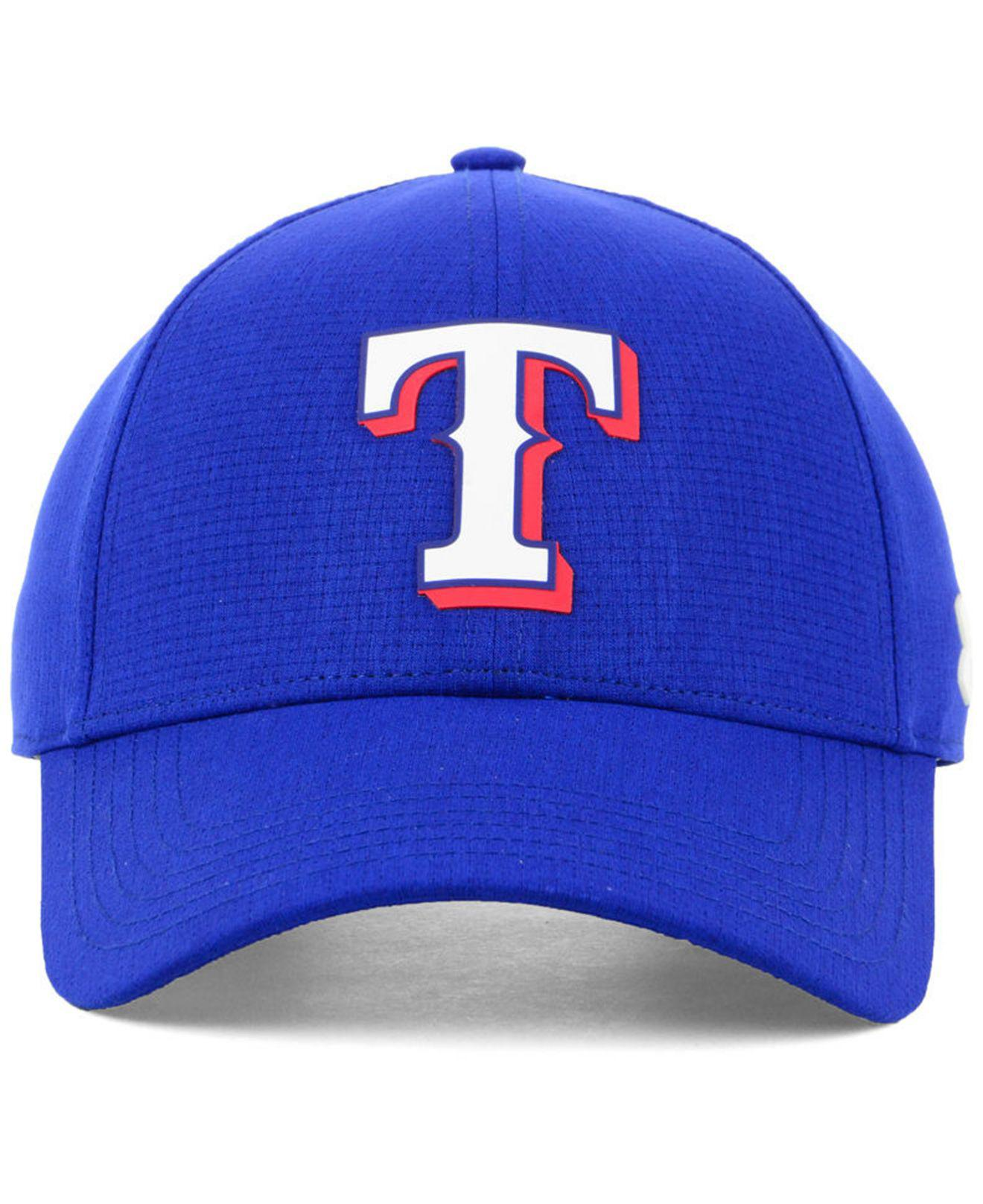 cheaper d96b8 5be2b ... usa lyst under armour texas rangers driver cap in blue for men 5c666  d7602
