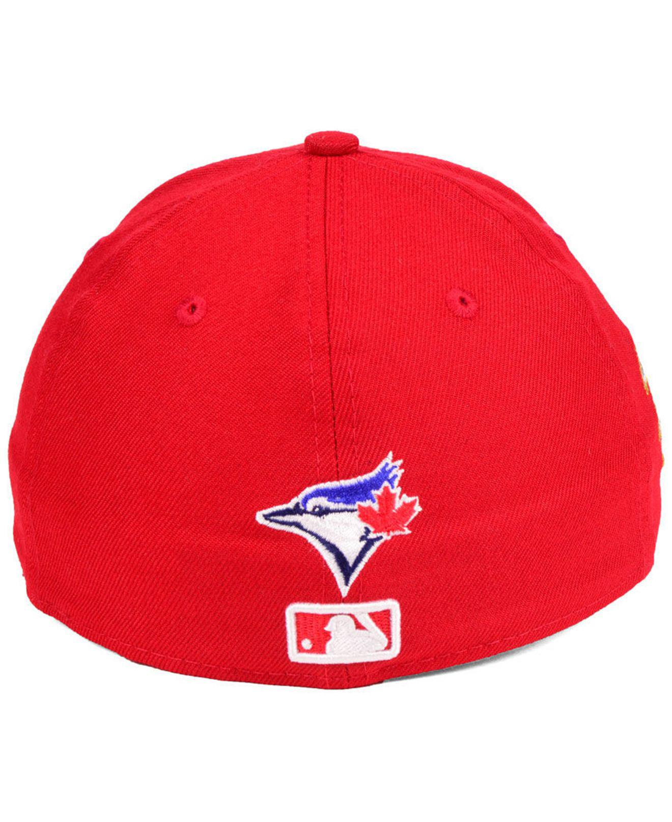 reputable site 094b2 6a89b KTZ Toronto Blue Jays Stars And Stripes Low Profile 59fifty Fitted ...