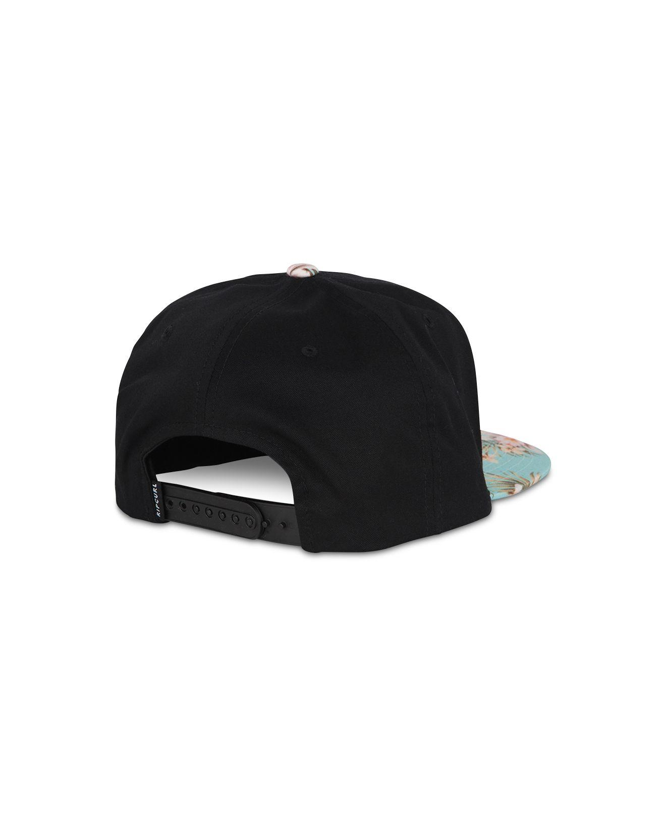 7a1ddd1305a Lyst - Rip Curl Valley Blade Logo Graphic Hat in Black for Men