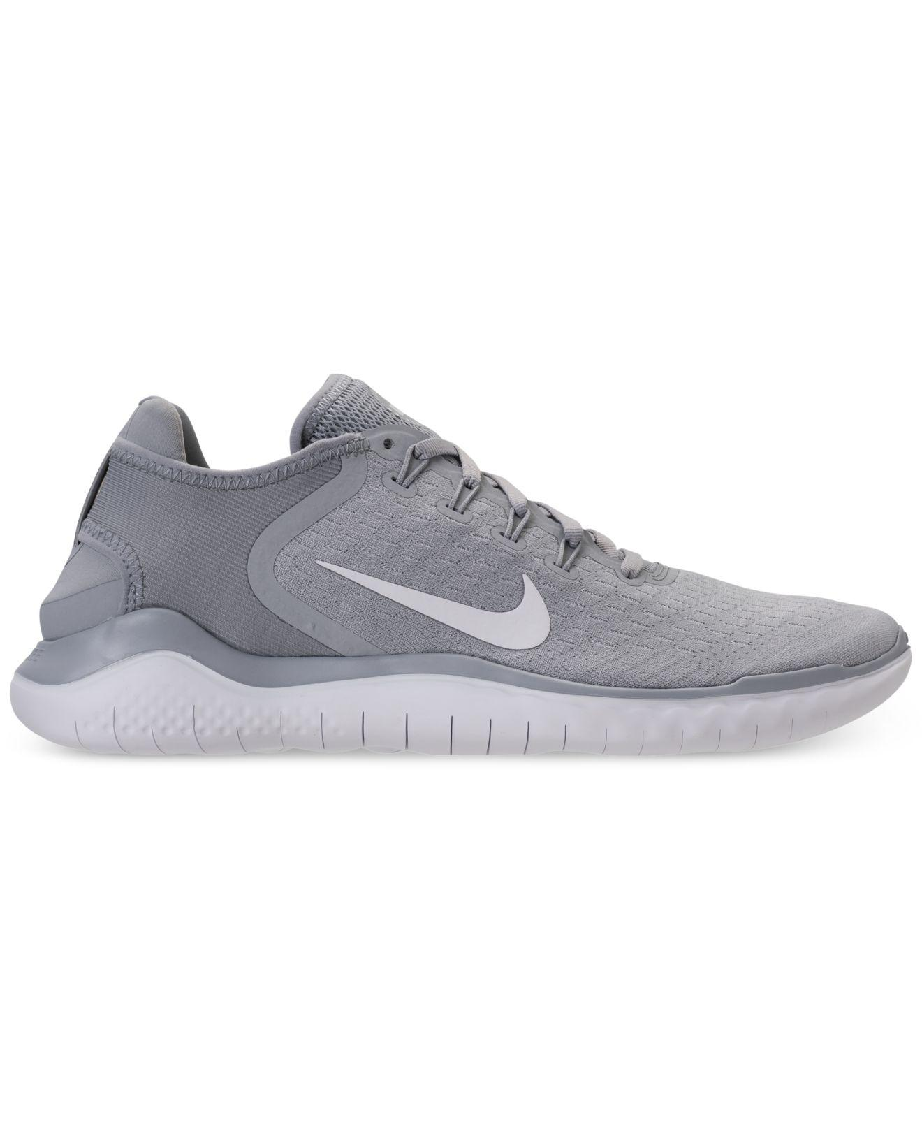 610f71922897 Lyst - Nike Free Run 2018 Running Sneakers From Finish Line in Gray for Men