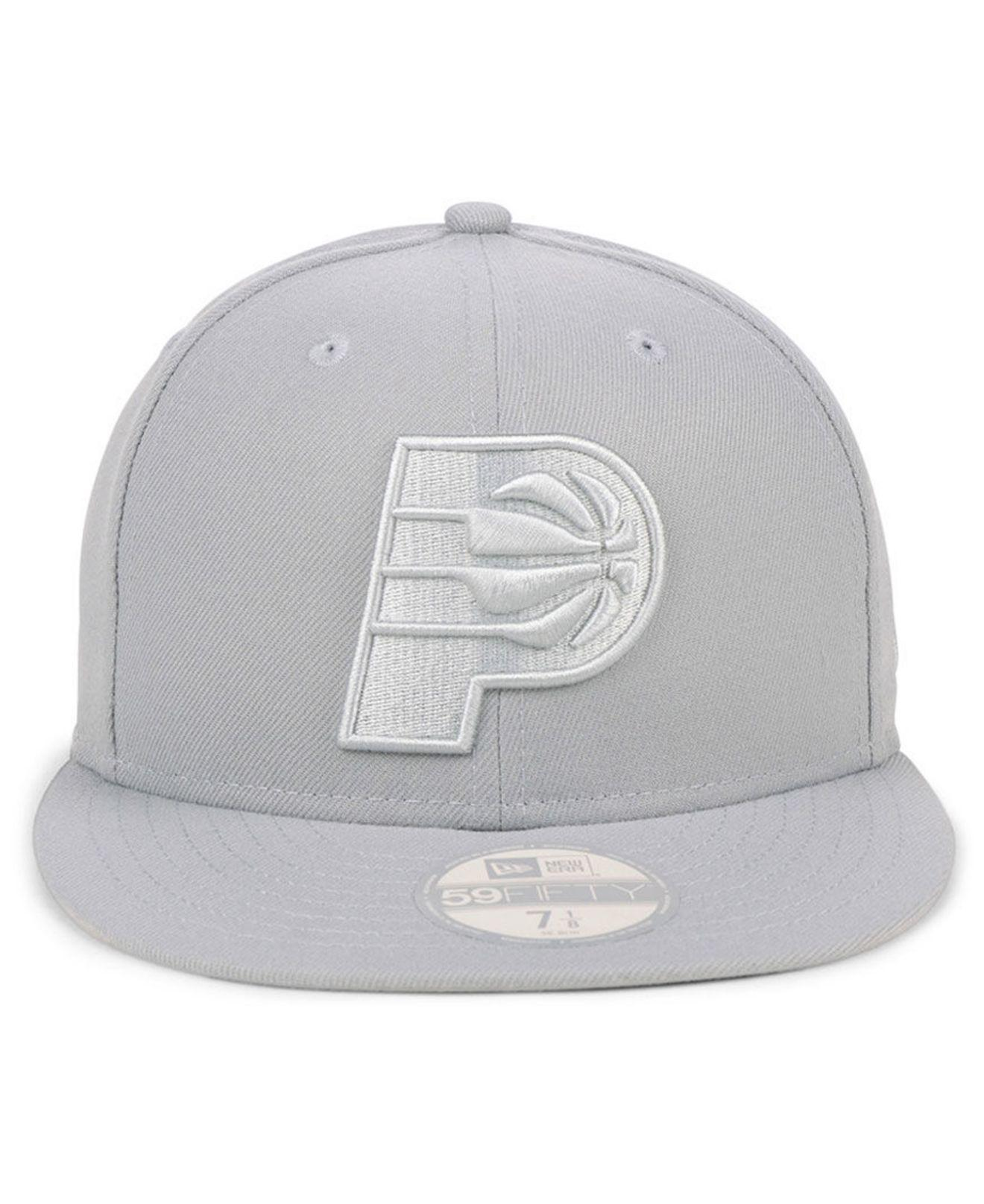 ... black graph 59fifty cap bc1bd d7e3e  authentic lyst ktz indiana pacers  fall prism pack 59fifty fitted cap in gray for men d8ba0 0e673fcb4b22