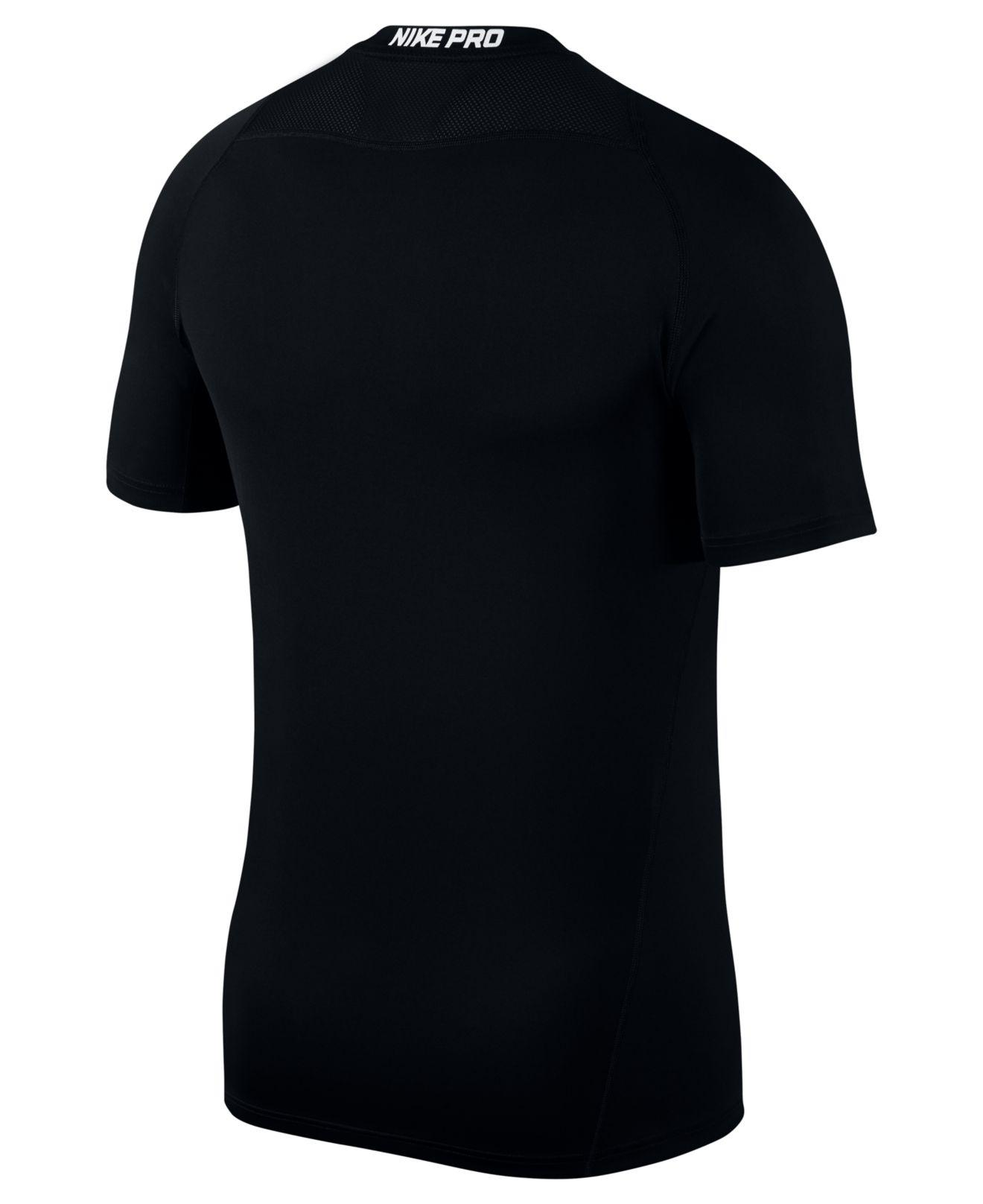 63f4abd8 Lyst - Nike Men's Pro Dri-fit Fitted T-shirt in Black for Men - Save 25%