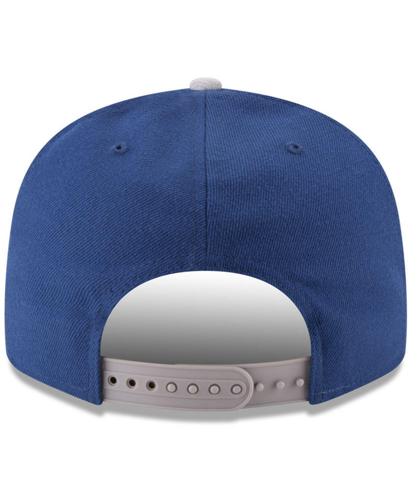 Lyst - KTZ Indianapolis Colts Retro Logo 9fifty Snapback Cap in Blue ... be516c073