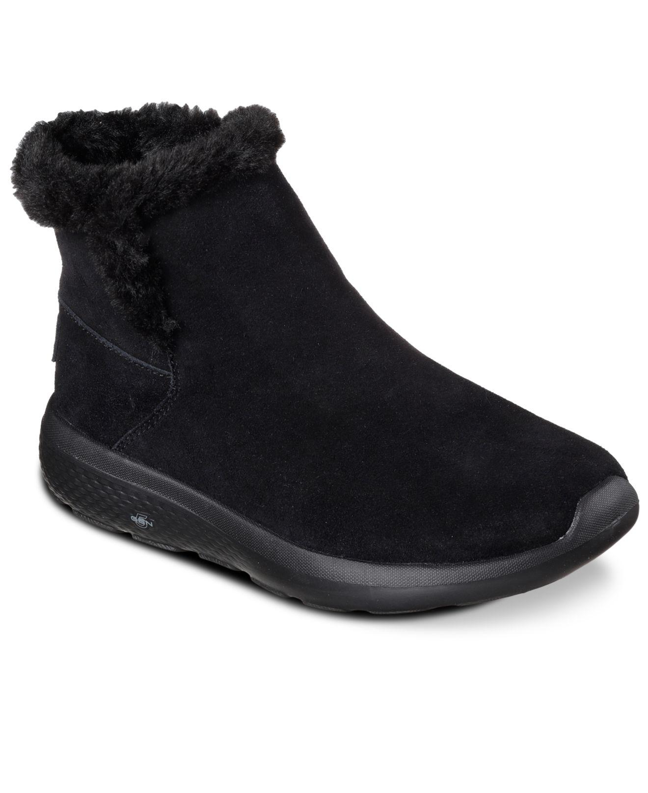 Skechers. Black Women's On The Go: City 2 - Bundle Boots ...