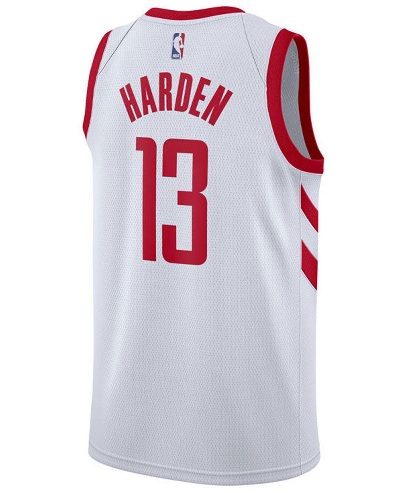 James Harden Houston Rockets Association Swingman Jersey