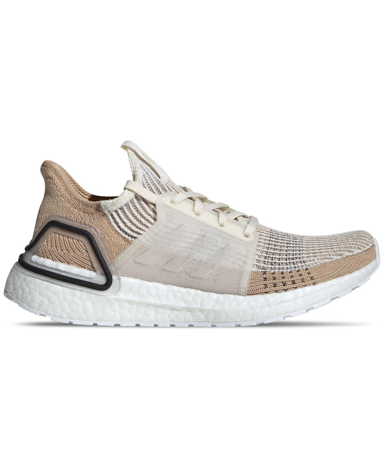 cf7bcdcdfdfda Lyst - adidas Ultraboost 19 Running Sneakers From Finish Line in White