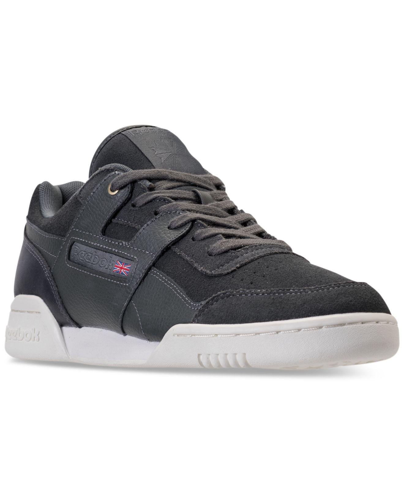 Reebok Men's Workout Plus Mcc Casual Sneakers from Finish Line NrY6kZMG5