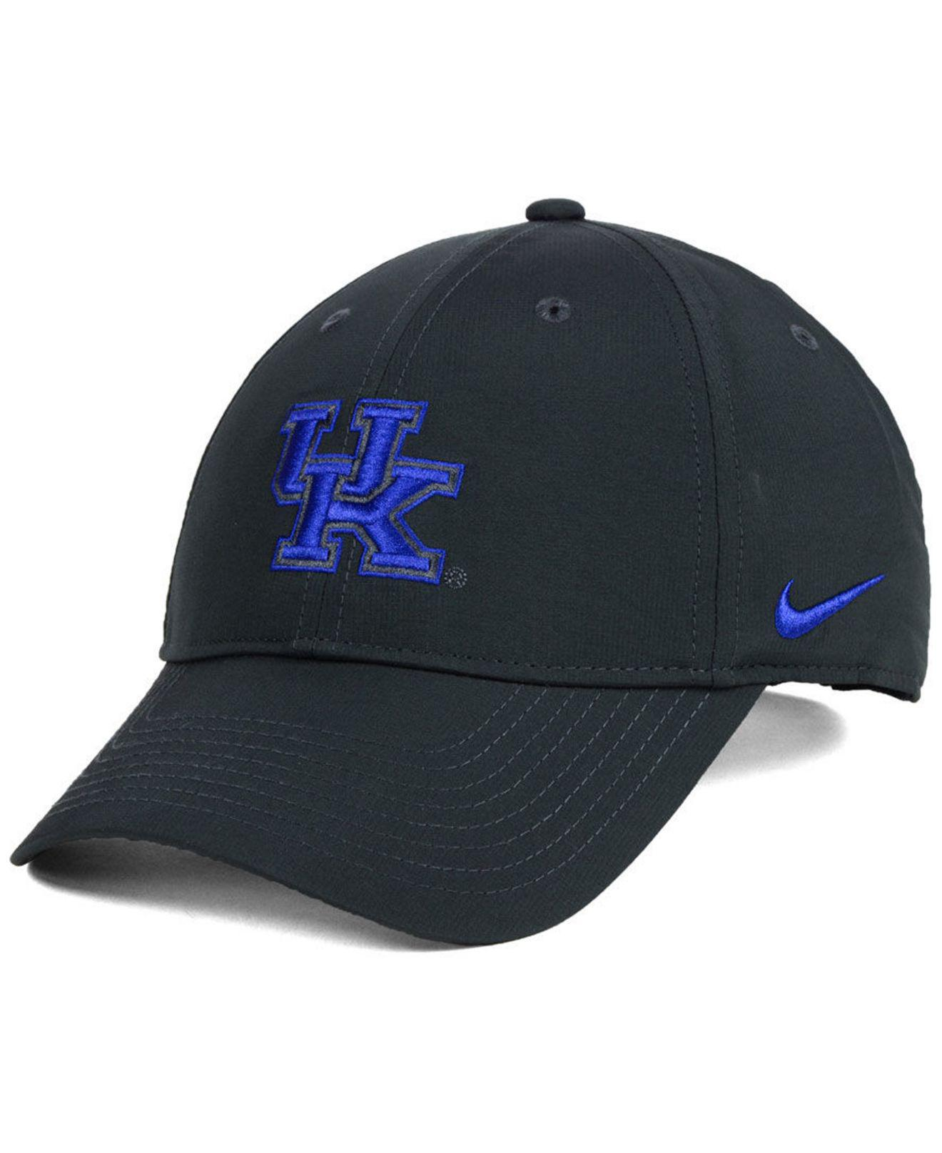 Lyst - Nike Kentucky Wildcats Dri-fit Adjustable Cap in Blue for Men bfceec4e9c21