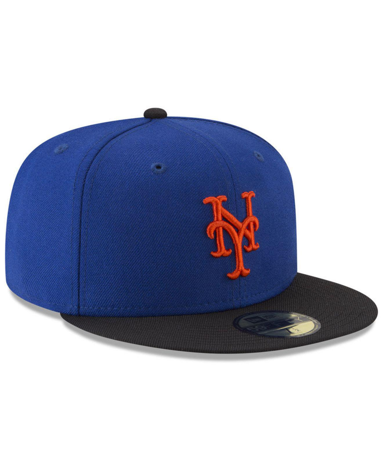a8c4d823edc ... New York Mets Batting Practice Wool Flip 59fifty Fitted Cap for Men -.  View fullscreen