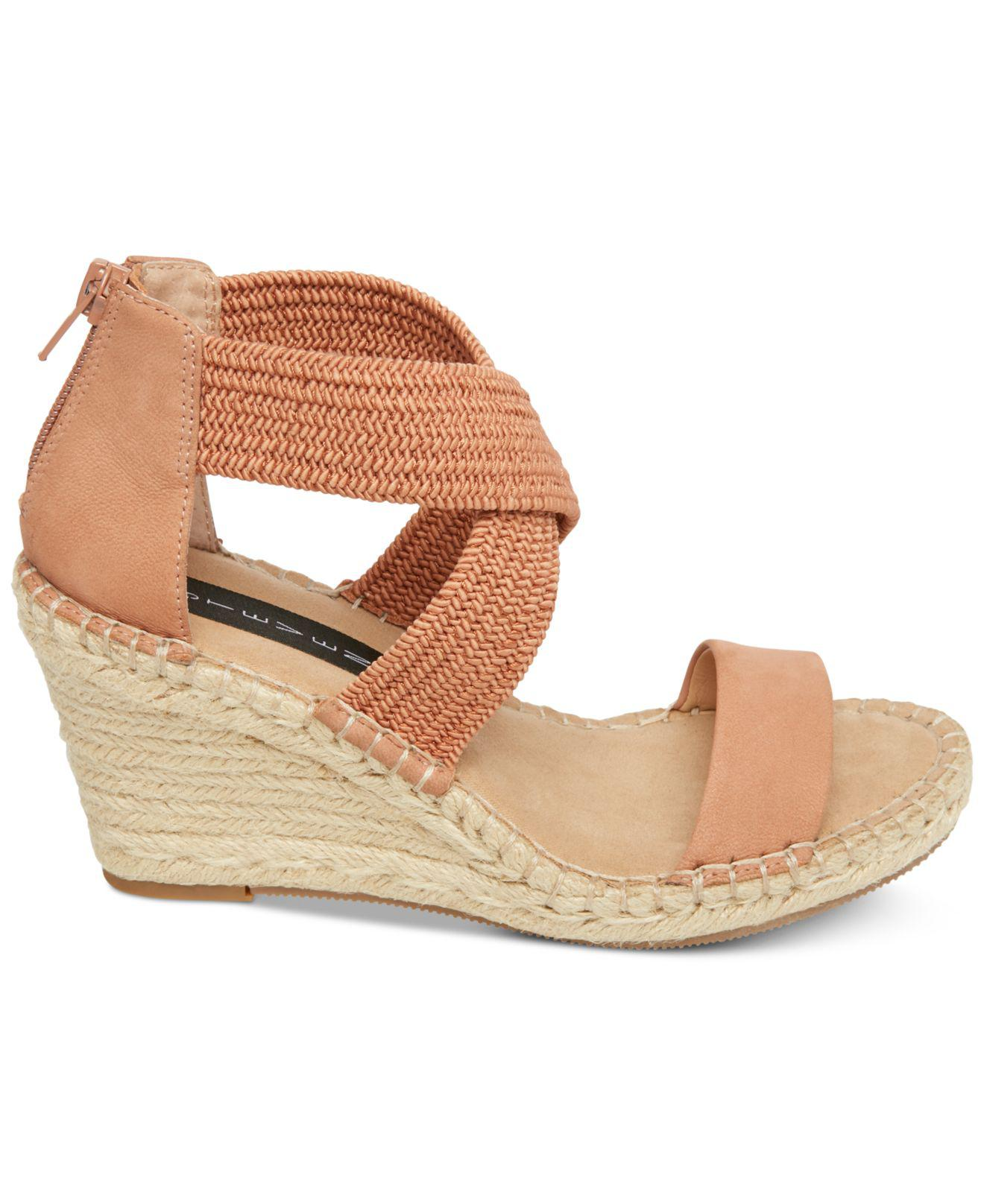 c32e357f2b7 Lyst - Steven by Steve Madden Excited Wedge Sandals