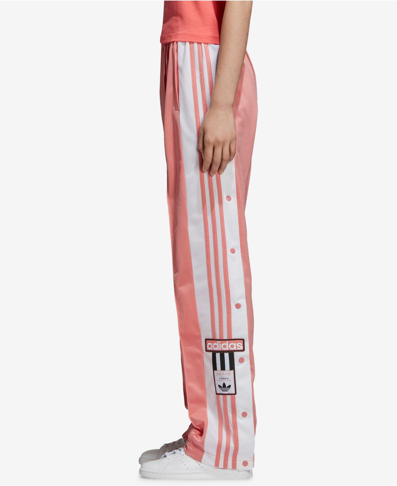 adidas the brand with the 3 stripes pants