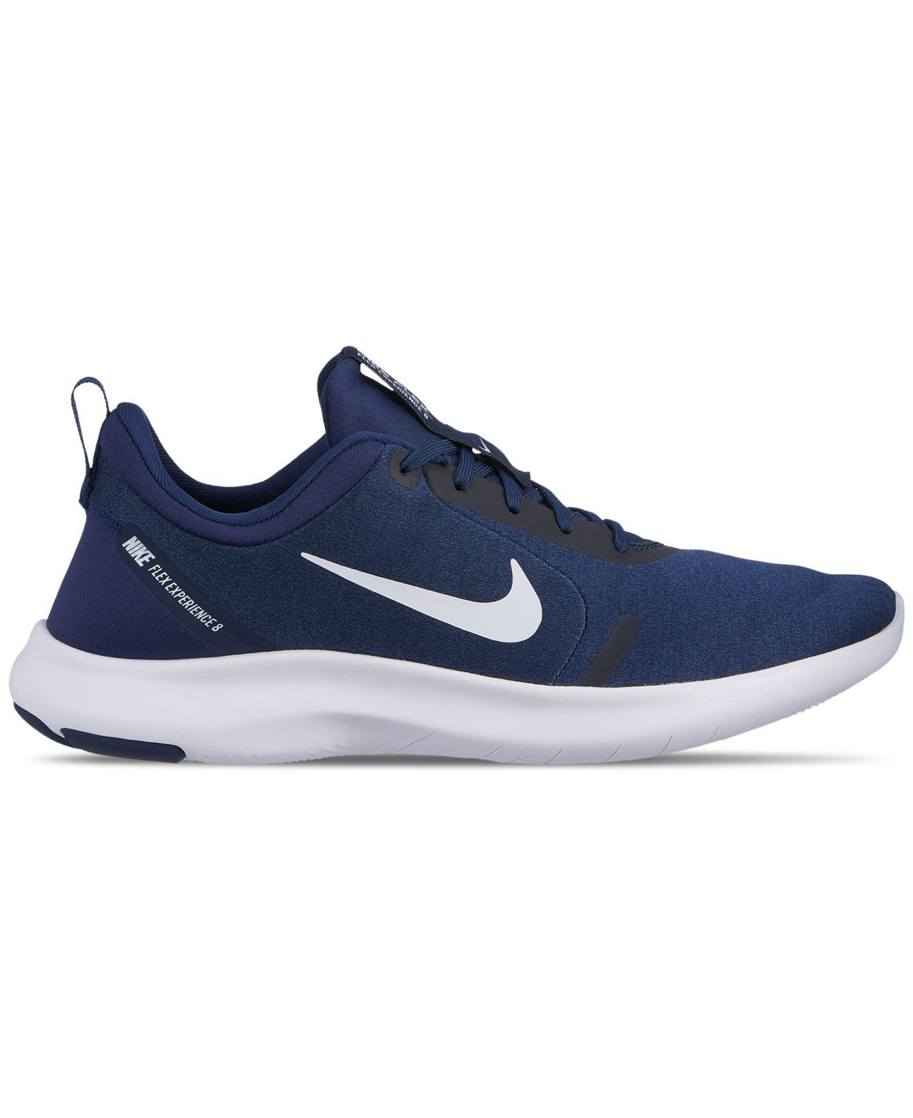 4218af8893213 Lyst - Nike Flex Experience Rn 8 Running Sneakers From Finish Line ...