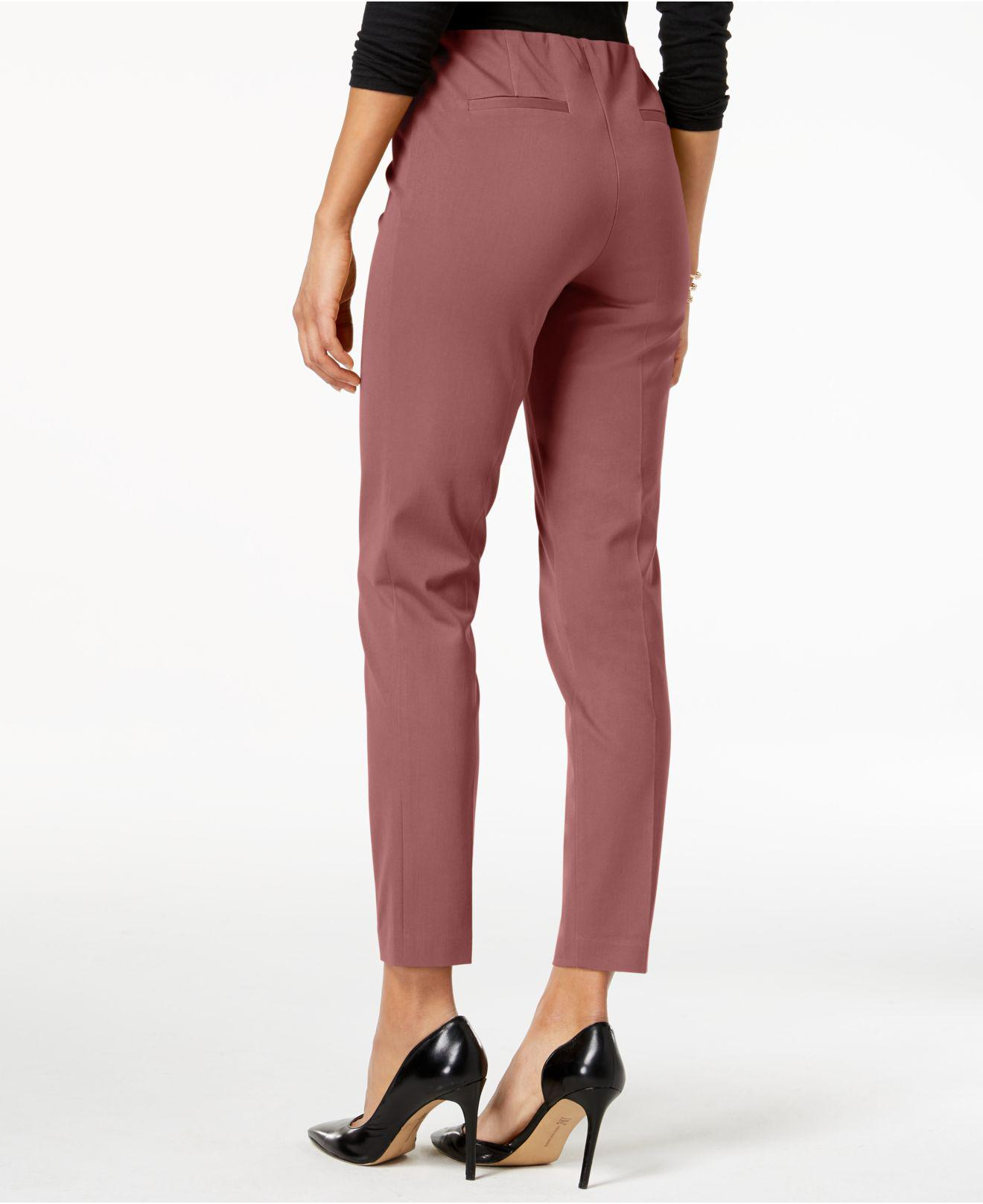 7d6e027dc4a13 Lyst - Alfani Bi-stretch Hollywood Skinny Pants