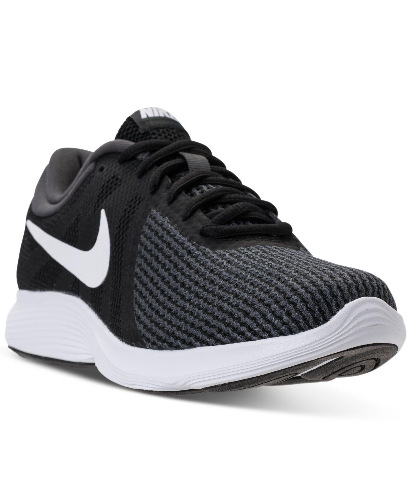 803a355bbd2a Lyst - Nike Women s Revolution 4 Running Sneakers From Finish Line ...