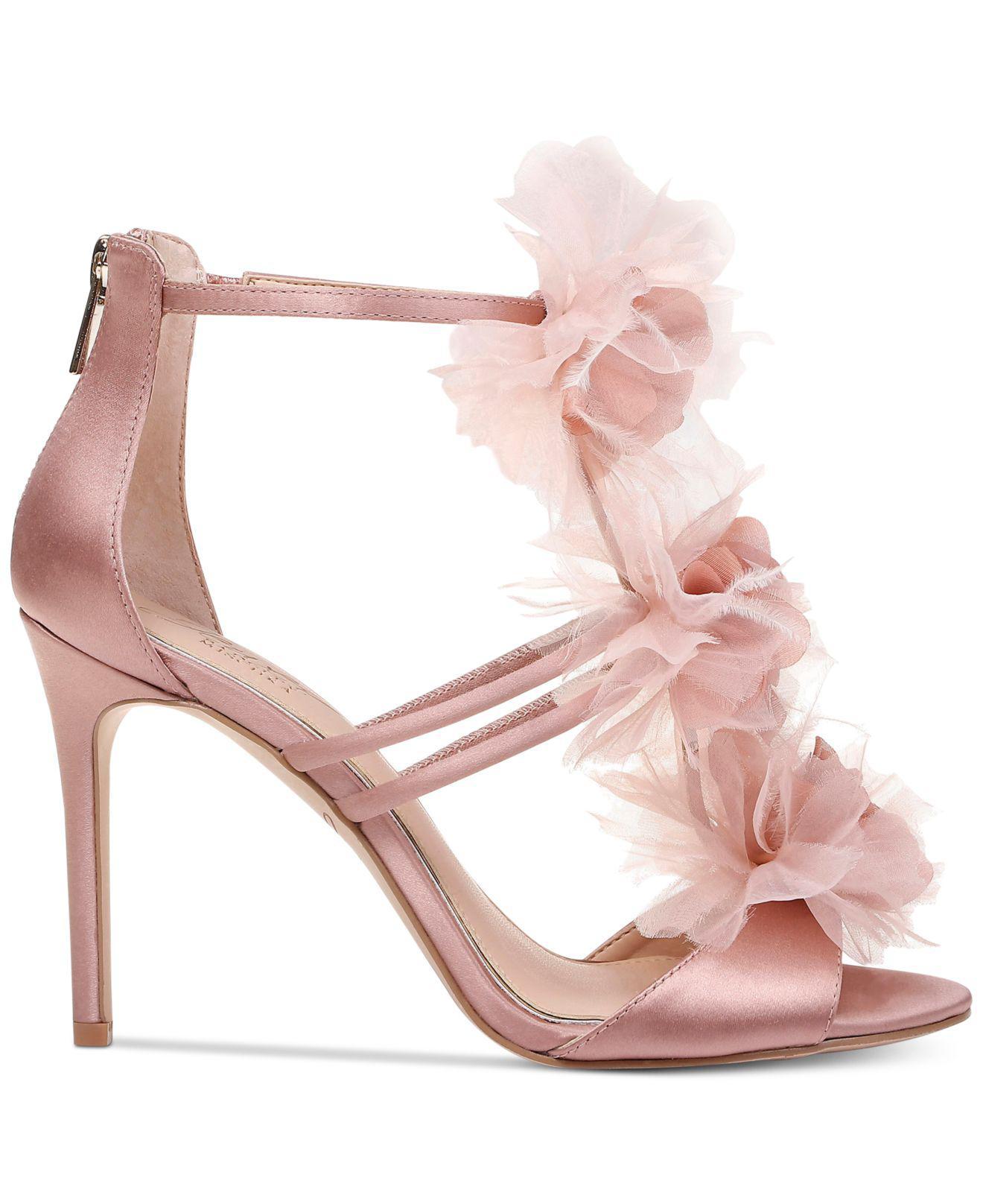 Lyst - Badgley Mischka Dustine Evening Sandals in Pink - Save 1%