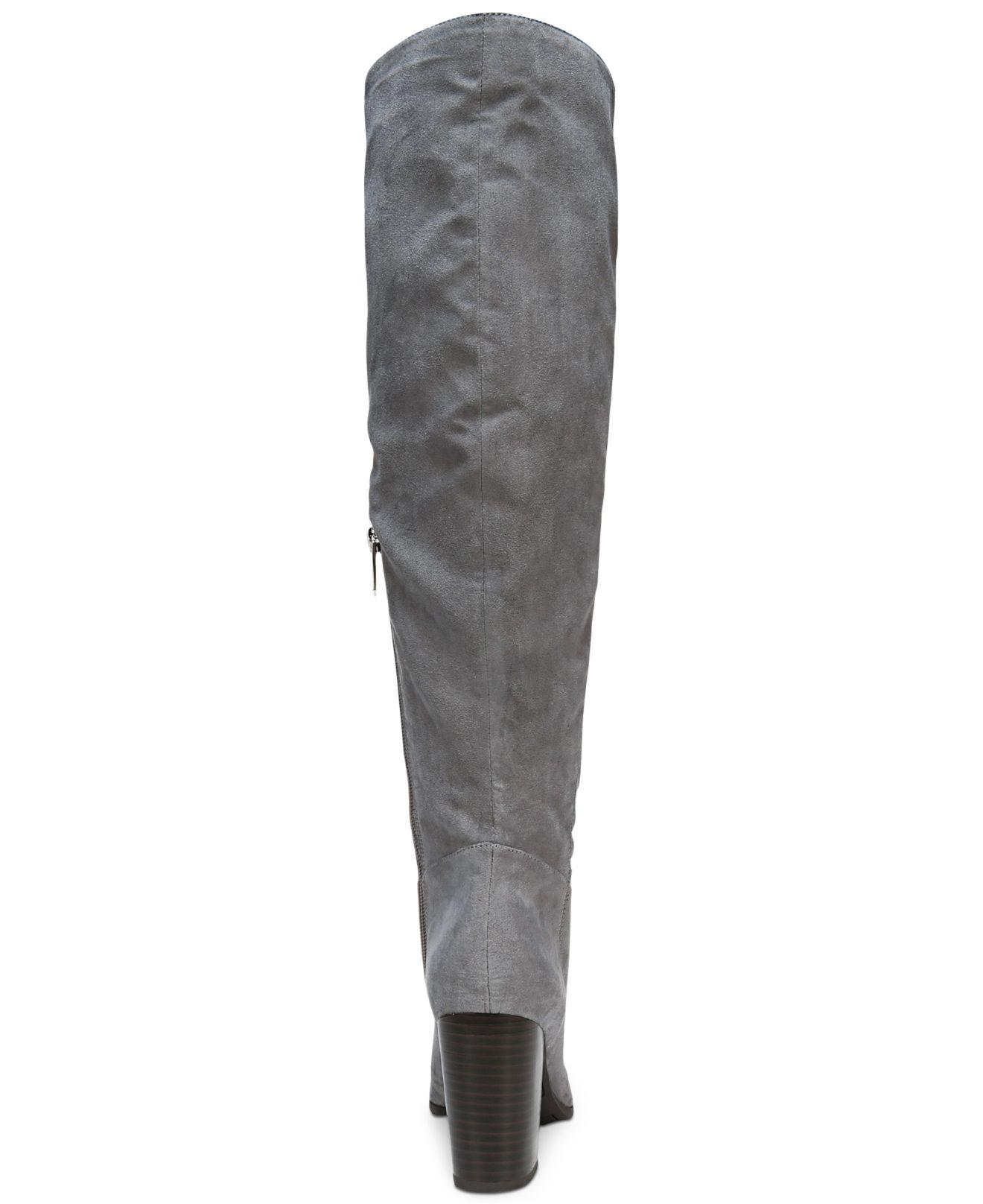 1ef211b632f Lyst - Circus by Sam Edelman Sibley Over-the-knee Boots in Gray