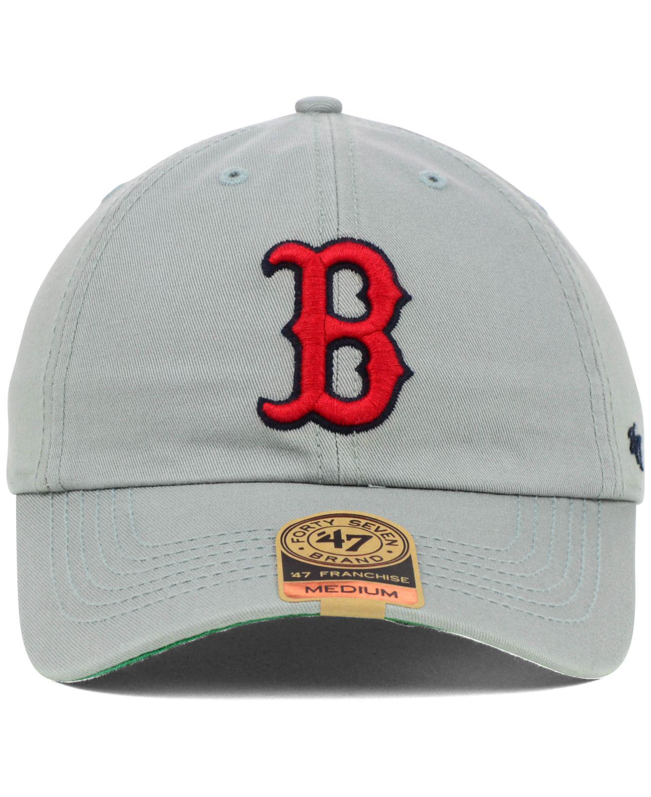 de17d6a767ad6 Lyst - 47 Brand Boston Red Sox Franchise Cap in Gray for Men