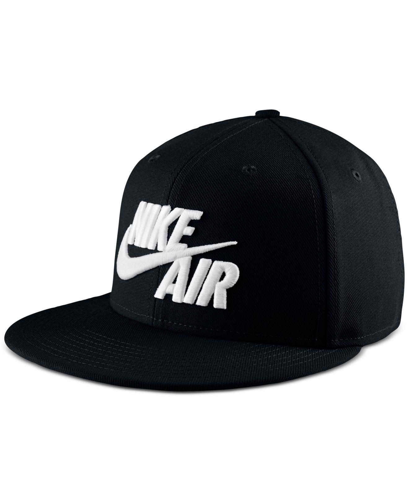 Lyst - Nike Sportswear Air Dri-fit Hat in Black for Men 28266a9f9c90