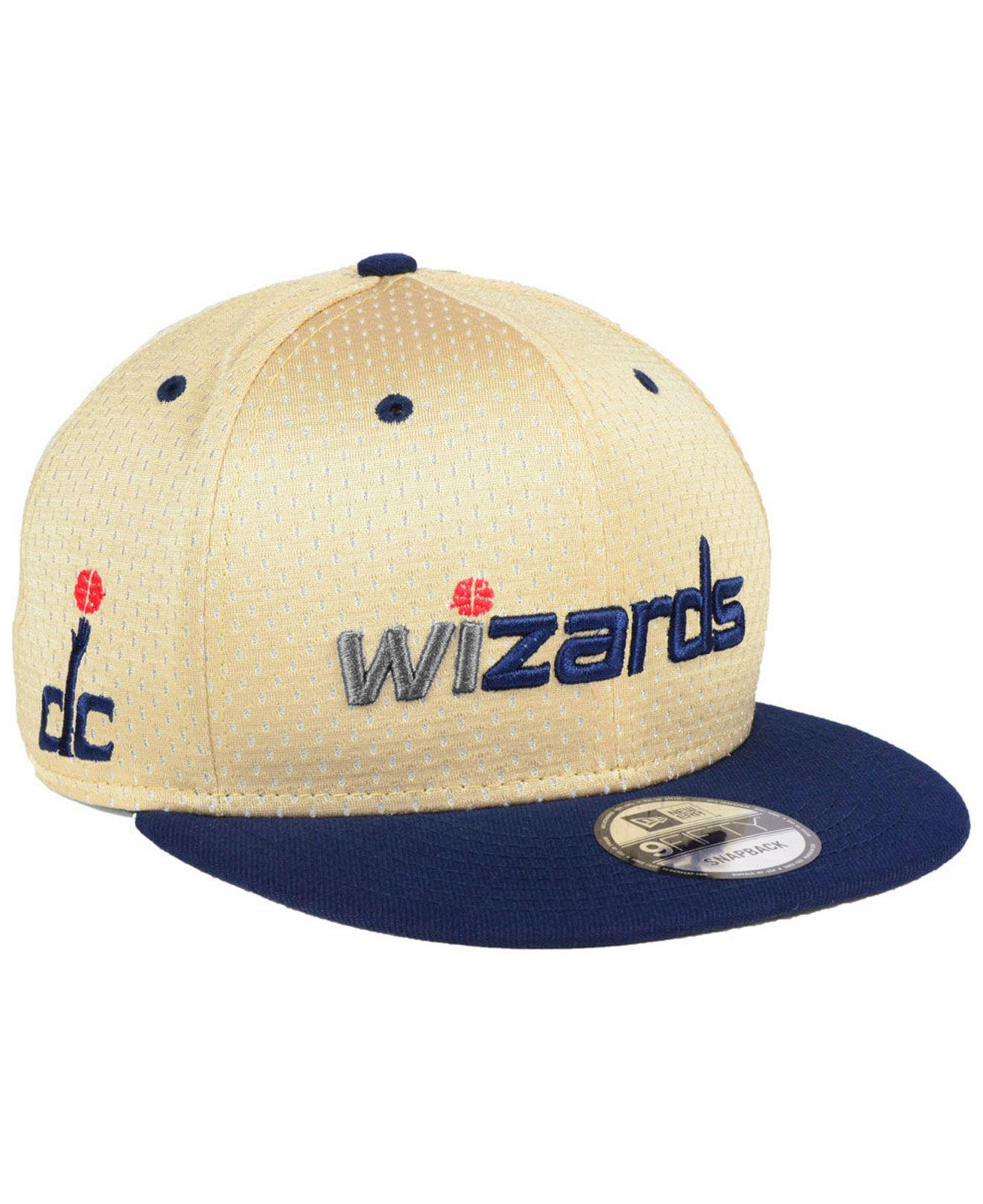 new concept 5fcff 4313e ... denmark ktz. mens blue washington wizards champagne 9fifty snapback cap  3807e fa68f