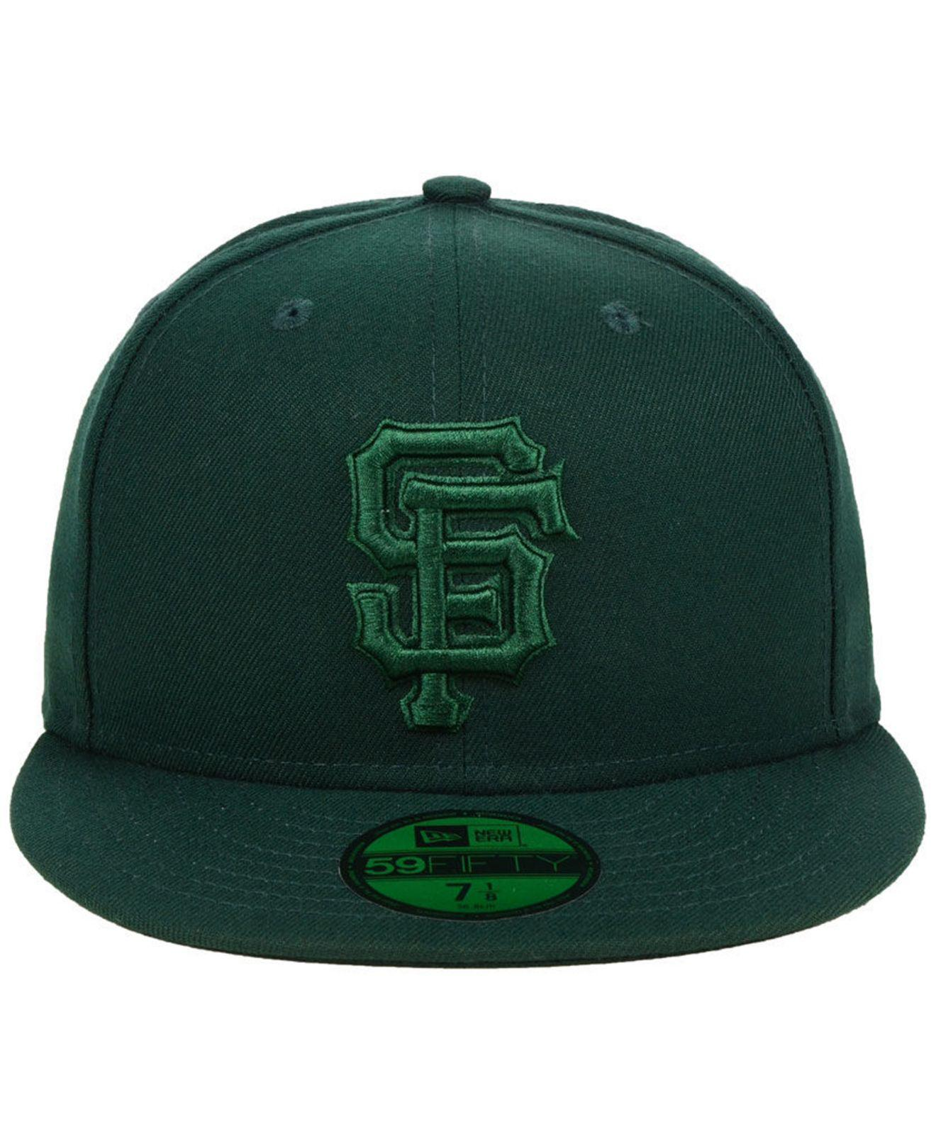 huge selection of 4d589 2172f Lyst - KTZ San Francisco Giants Fall Prism Pack 59fifty-fitted Cap in Green  for Men
