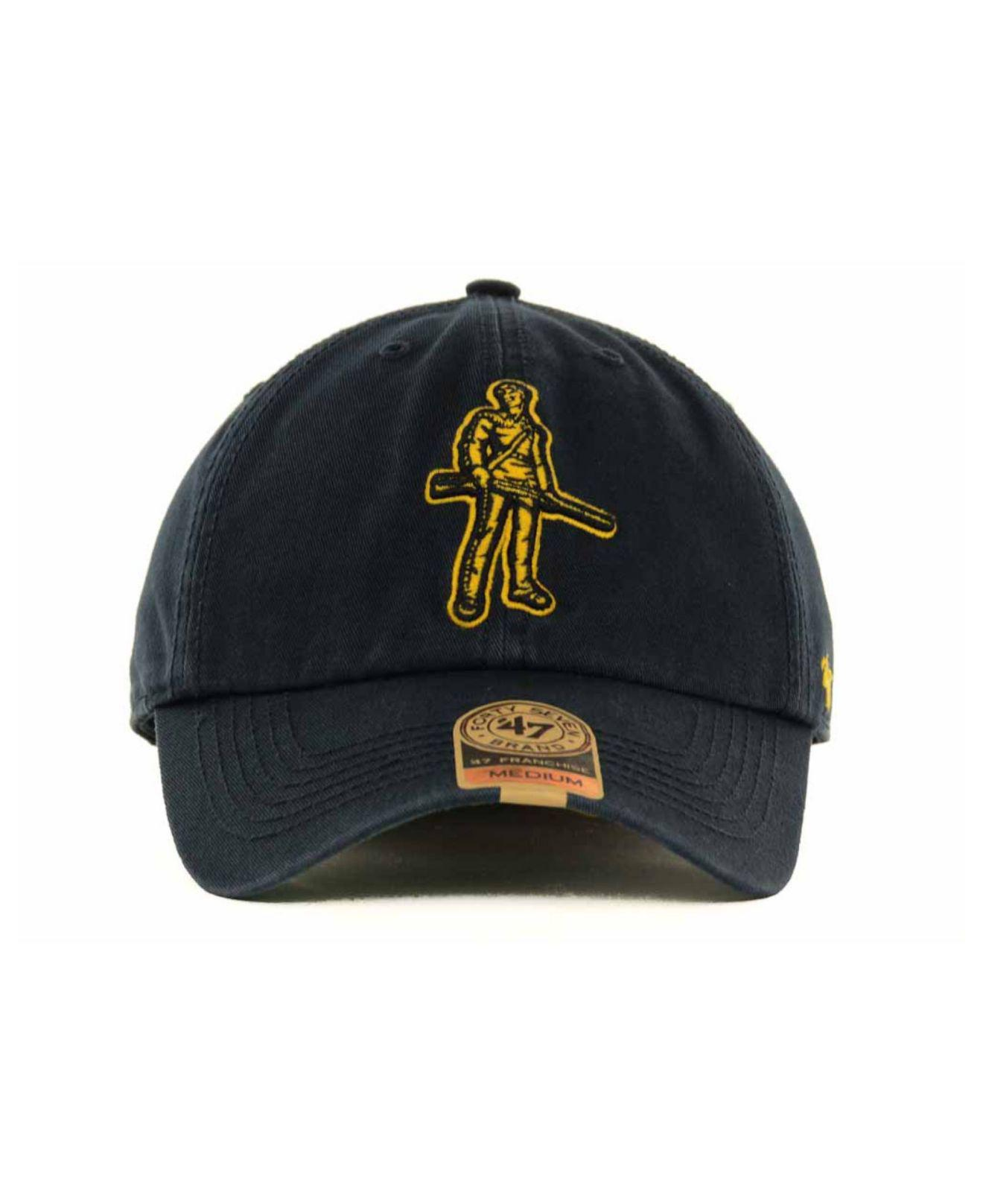Lyst - 47 Brand West Virginia Mountaineers Franchise Cap in Blue for Men d95b4031874
