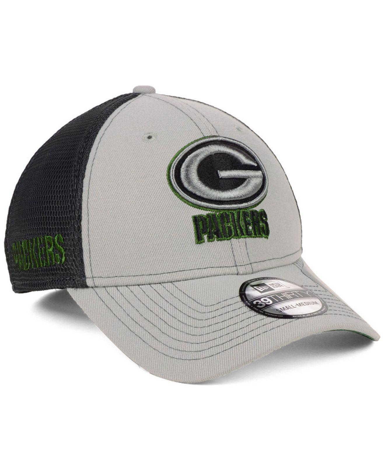 Lyst - Ktz Green Bay Packers 2-tone Sided 39thirty Cap in Green for Men e6250afc7