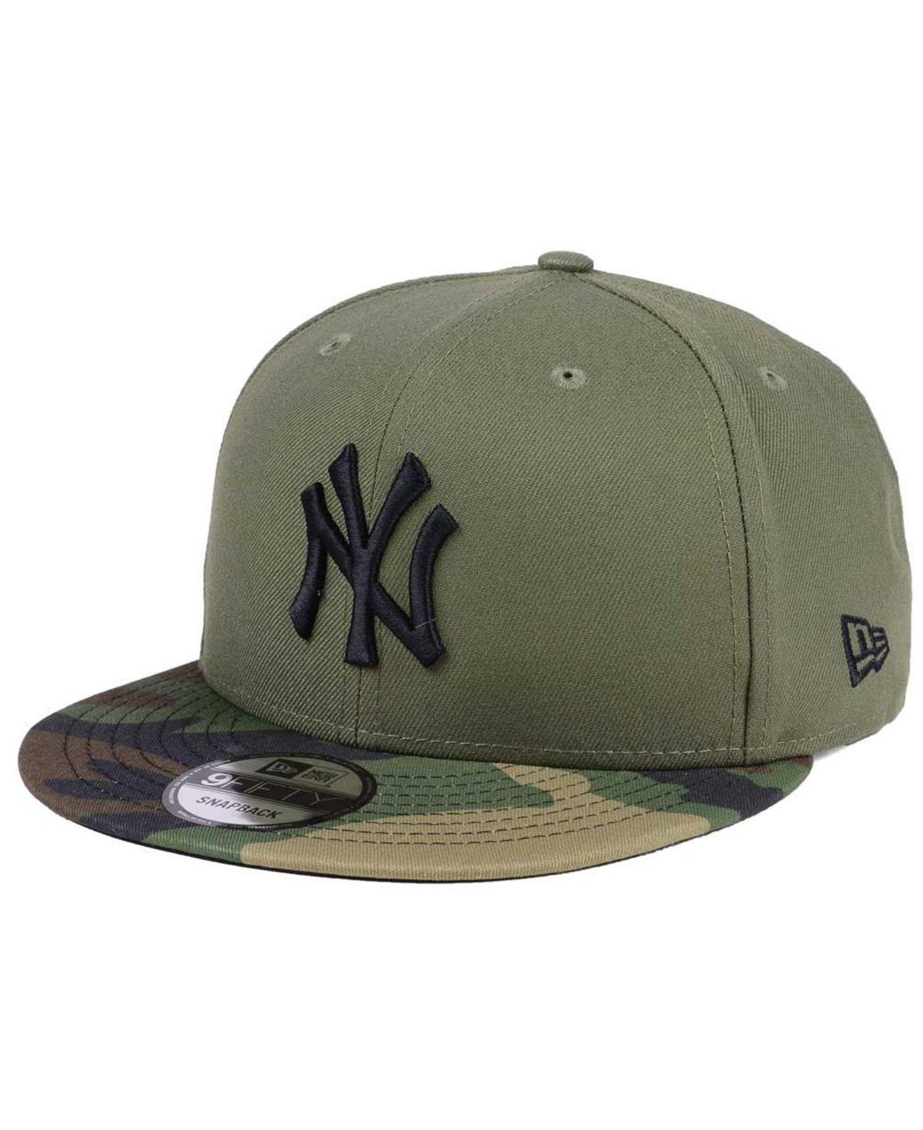 sale retailer 7bbdc 9ca6b KTZ. Men s Green Woodland Black white 9fifty Snapback Cap