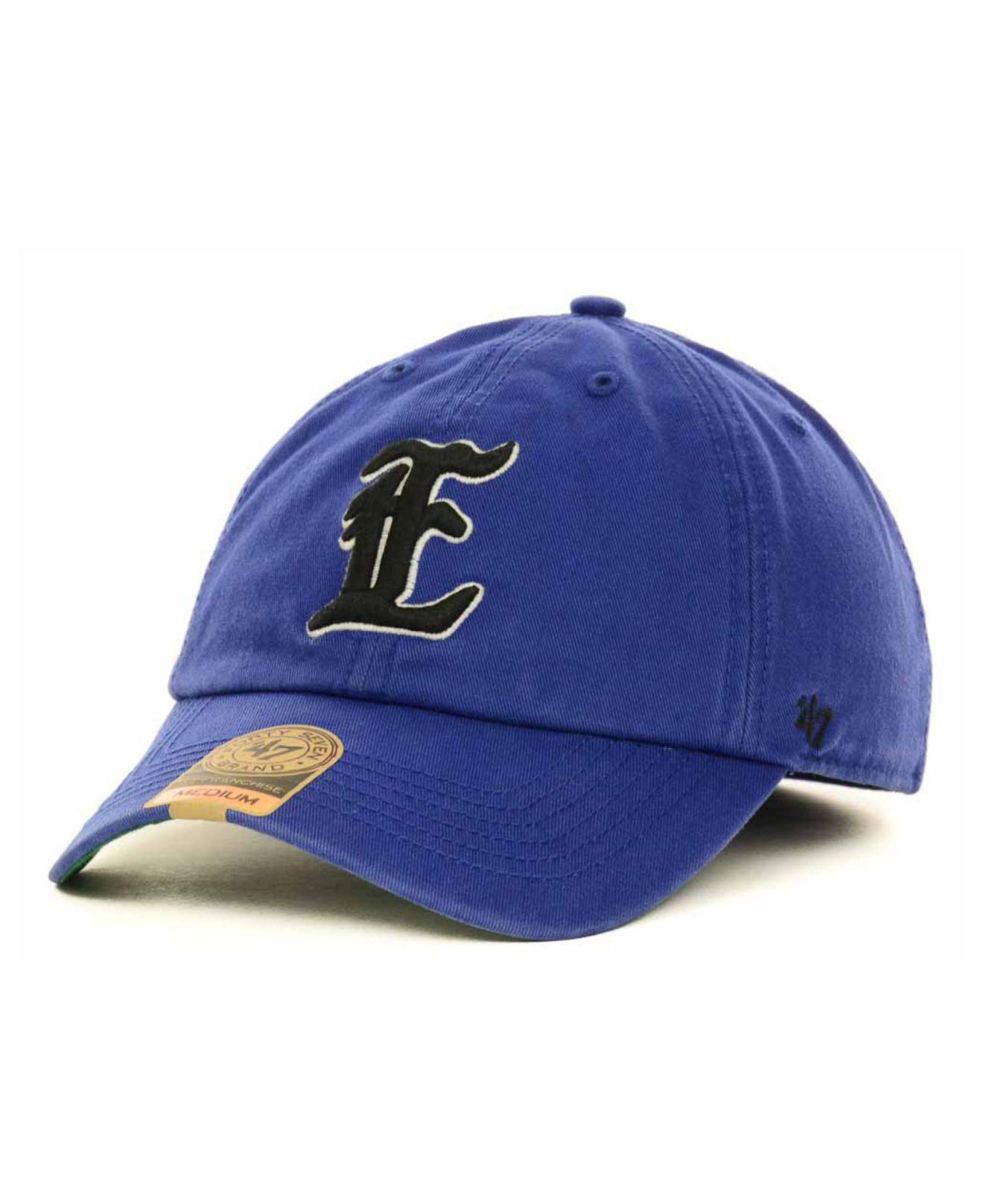 on sale 8f321 be37a ... new zealand 47 brand. mens blue eastern illinois panthers ncaa 47  franchise cap e1448 0f919
