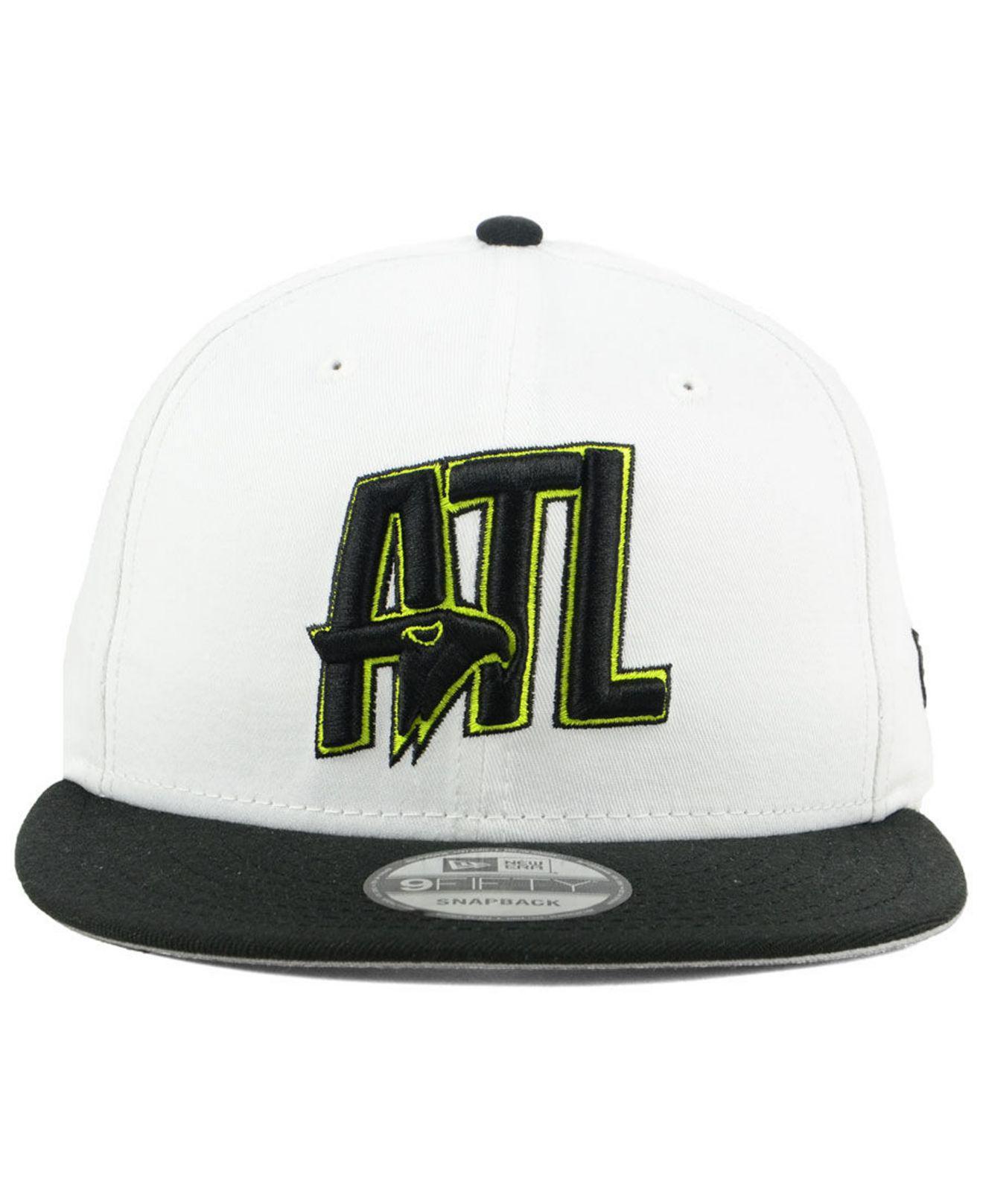 best cheap 6b4d7 0d6a4 Lyst - KTZ Atlanta Hawks Light City Combo 9fifty Snapback Cap in Black for  Men