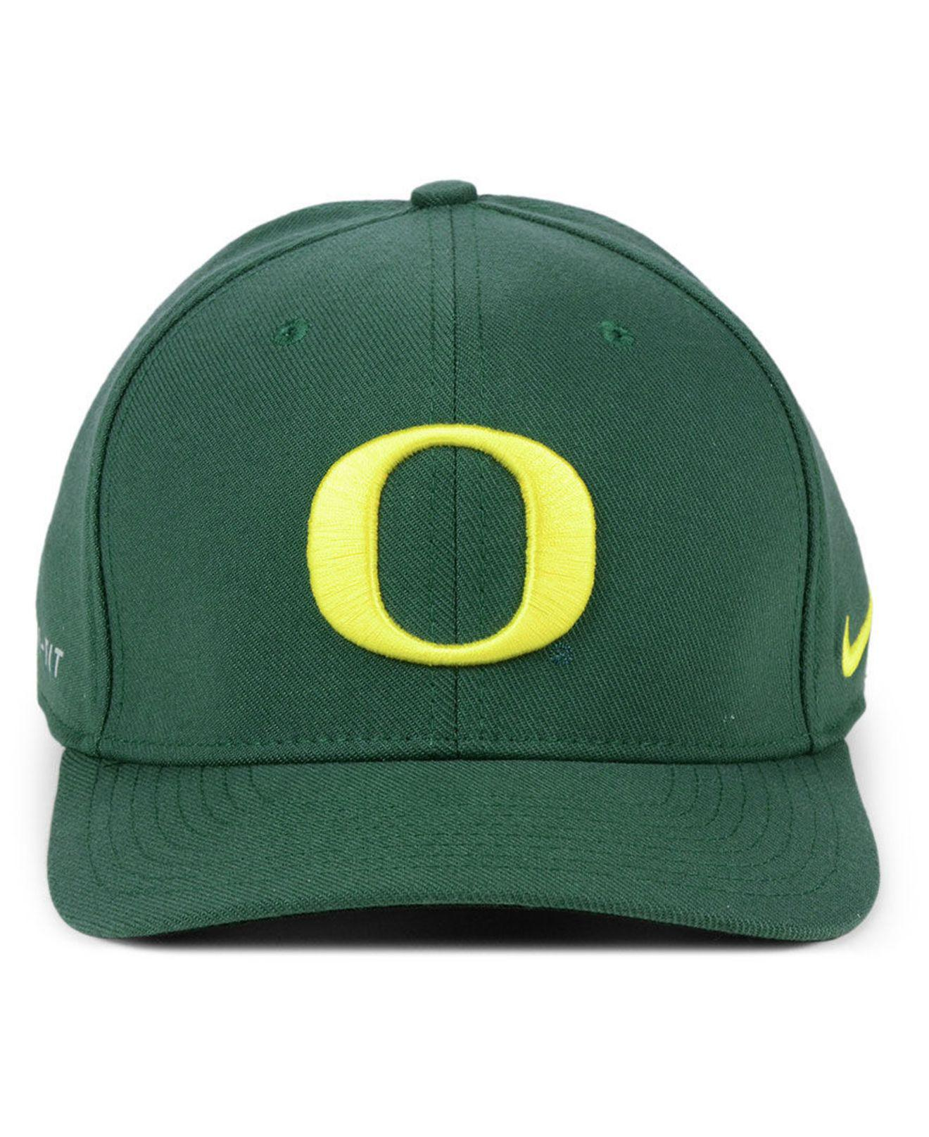 new style bbca1 24d17 Lyst - Nike Oregon Ducks Col Dri-fit Wool Cap in Green for Men