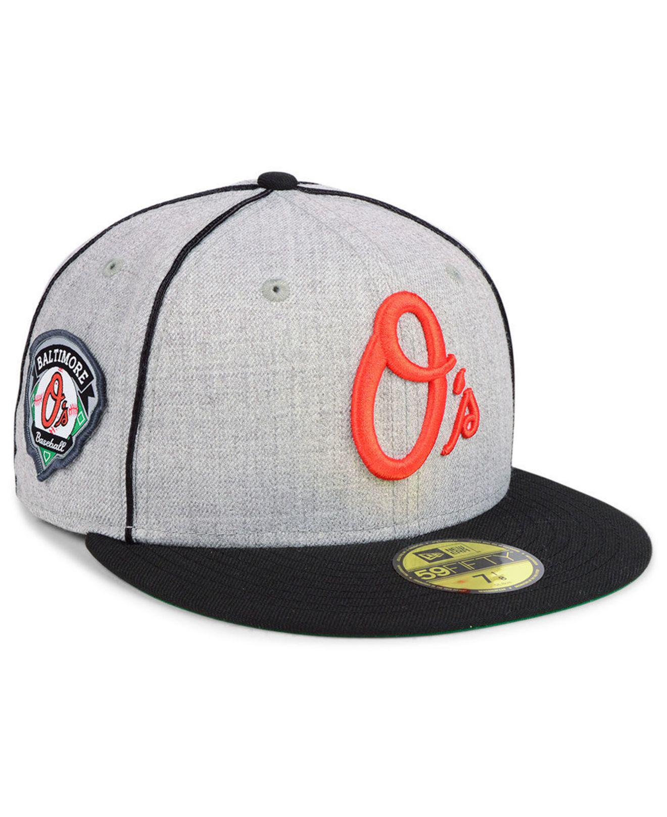Lyst - KTZ Baltimore Orioles Stache 59fifty Fitted Cap for Men 93e31ab1d8d4