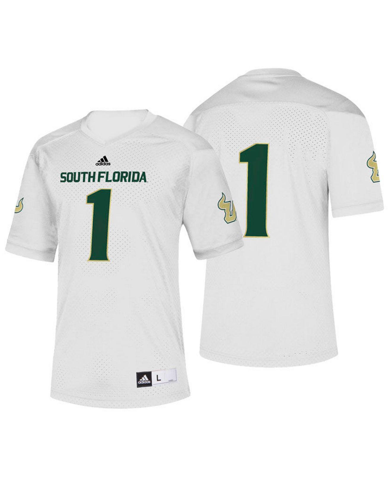 ... South Florida Bulls Replica Football Jersey for Men - Lyst. View  fullscreen 007ad8266