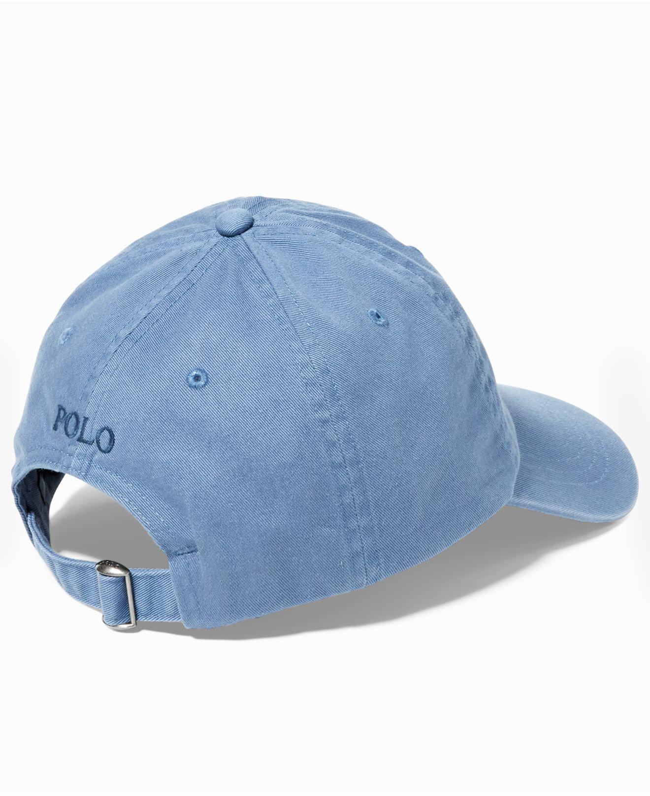 98e420c8a4e Lyst - Polo Ralph Lauren Classic Sport Cap in Blue for Men - Save 39%