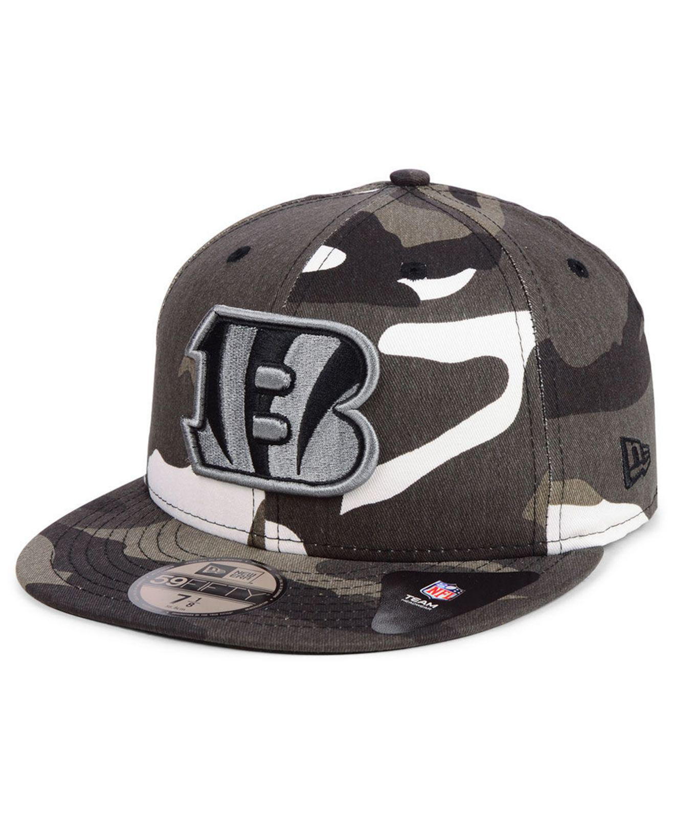 5648fb6c83996 Lyst - KTZ Cincinnati Bengals Urban Prism Pack 59fifty-fitted Cap ...