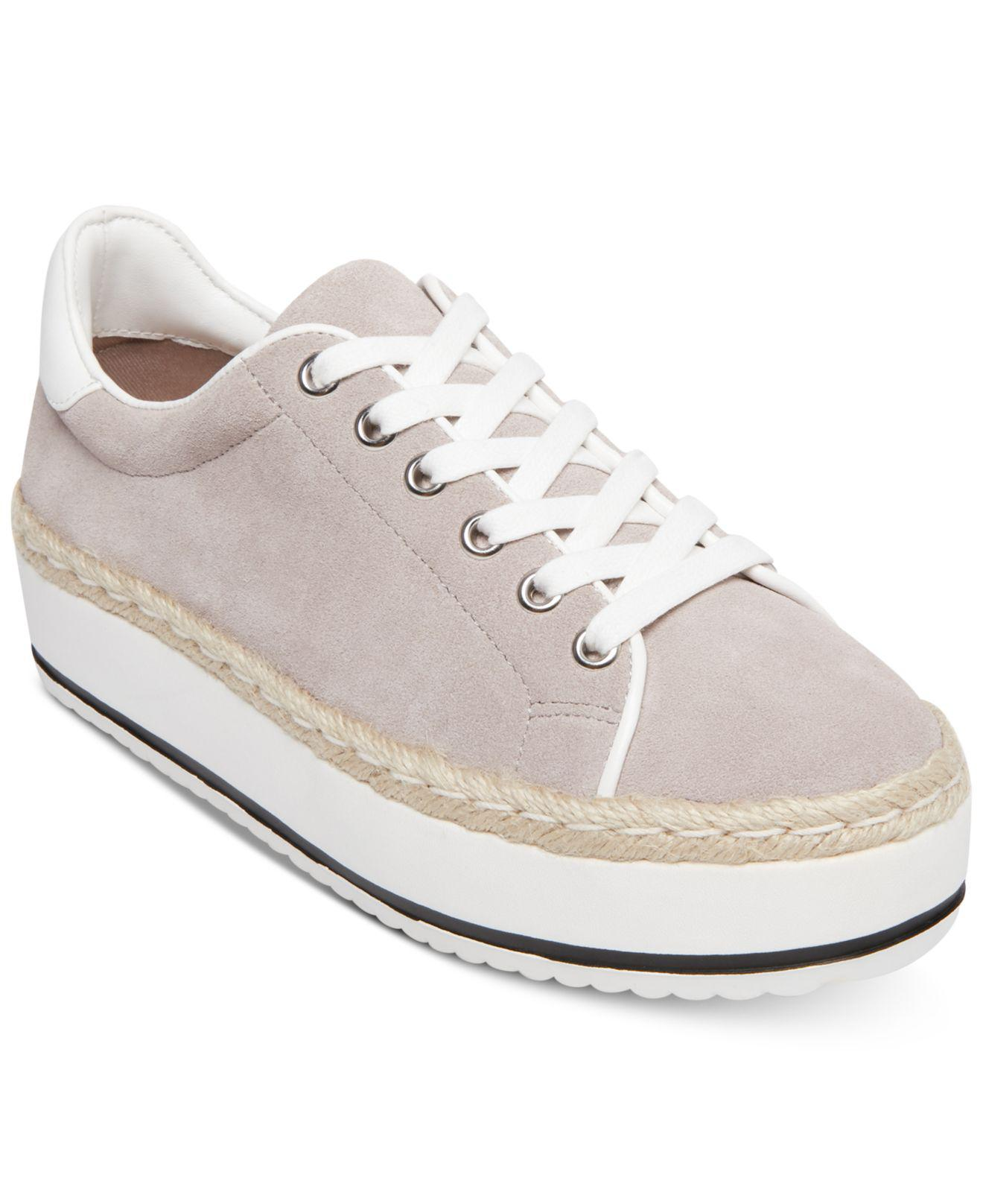 0d4efad5f46 Lyst - Steve Madden Rule Lace-up Espadrille Sneakers in Gray - Save 20%
