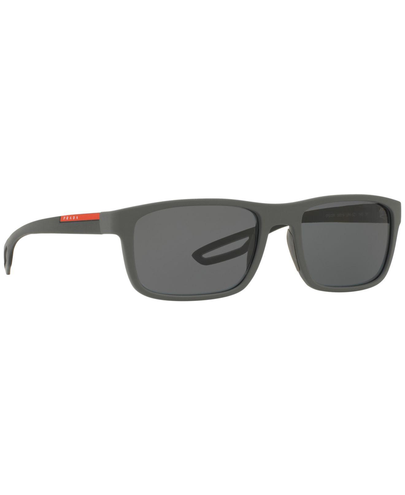 41d9715bca Lyst - Prada Polarized Sunglasses
