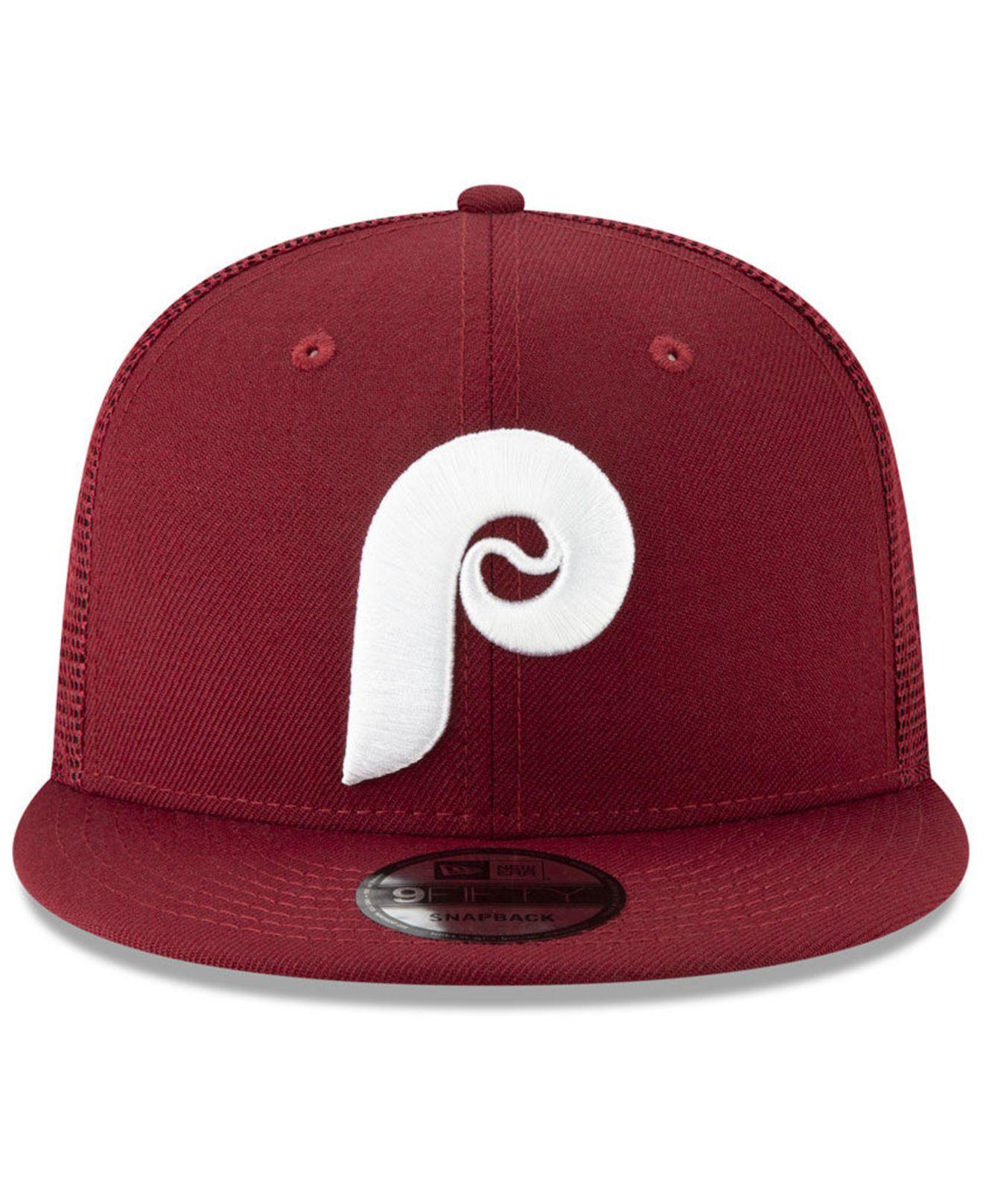 best service cb7e9 f56b5 KTZ Philadelphia Phillies Coop All Day 59fifty-fitted Cap in Red for Men -  Save 16% - Lyst