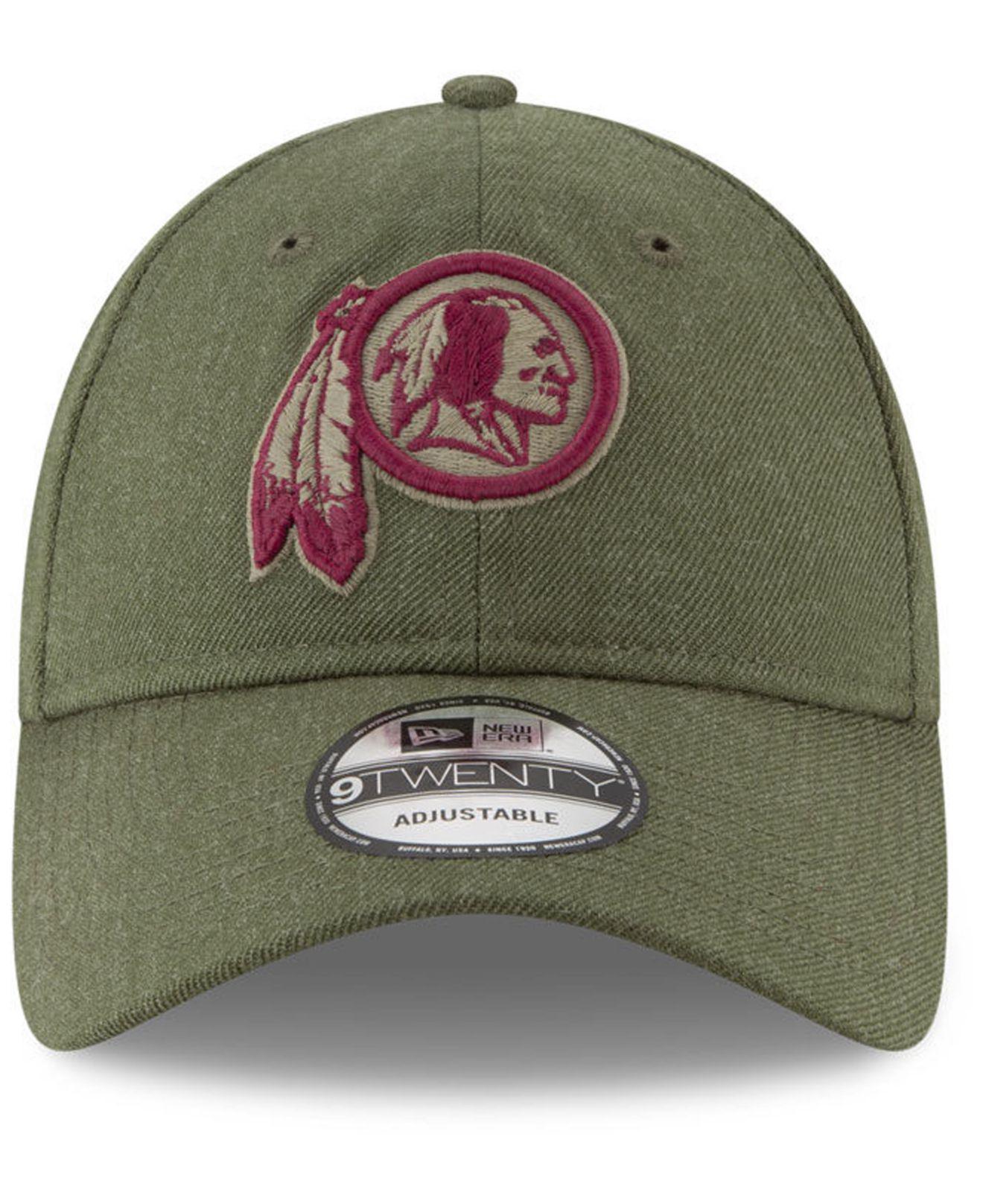 Lyst - Ktz Washington Redskins Salute To Service 9twenty Cap in Green for  Men 610d90e8d