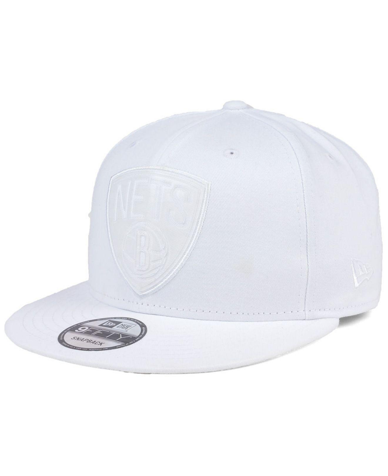 finest selection c76f0 5a871 KTZ - White So Icey 9fifty Snapback Cap for Men - Lyst. View fullscreen