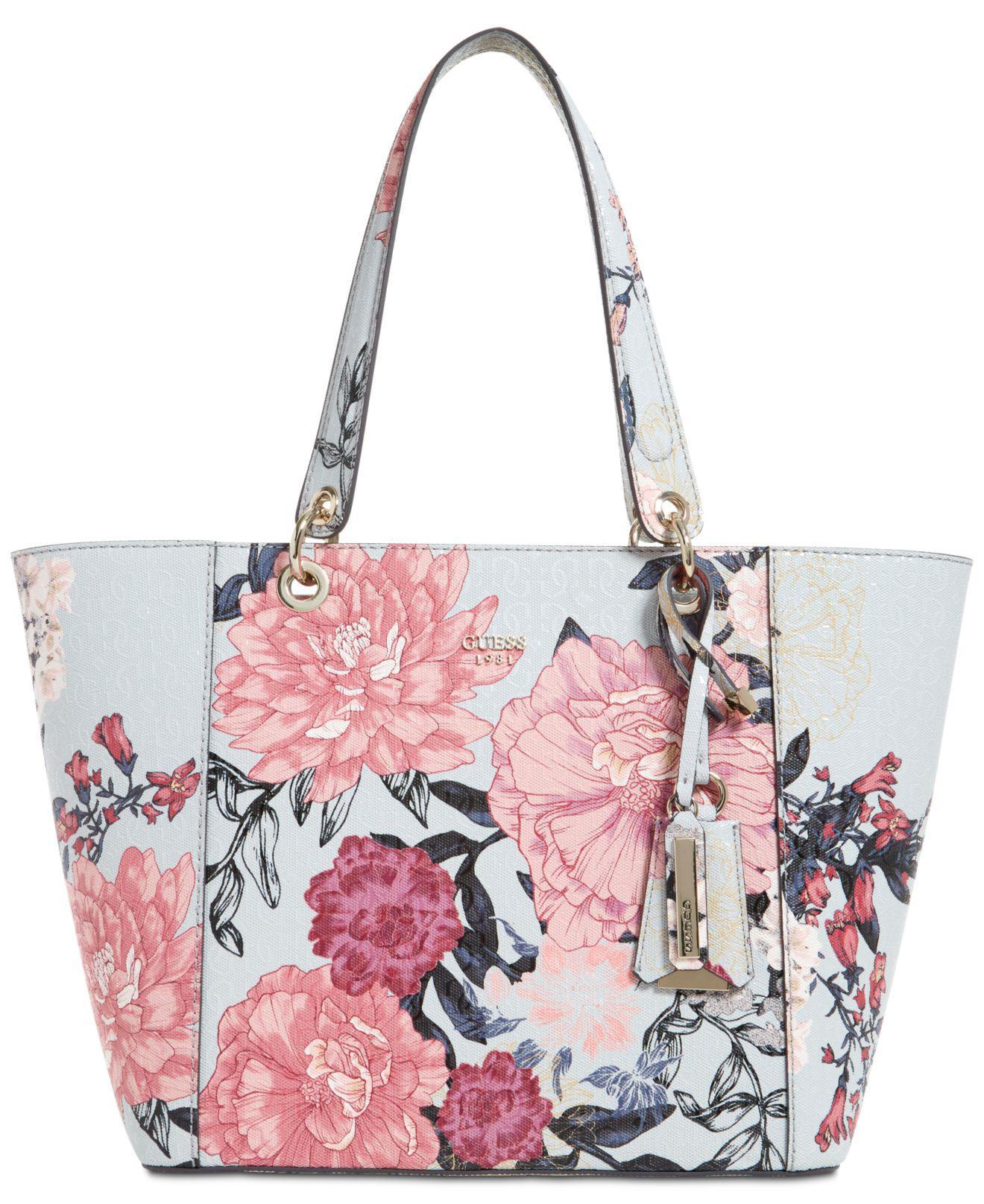 Deviner Shopper Kamryn Floral Gris N0gzVquSX